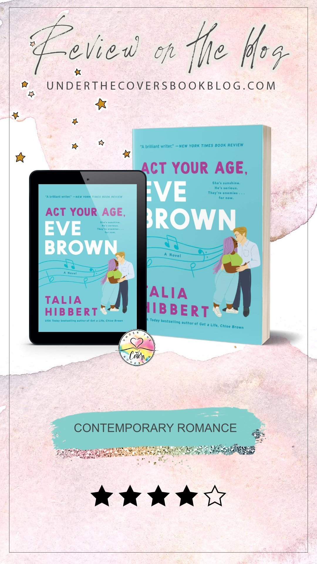 ARC Review: Act Your Age, Eve Brown by Talia Hibbert