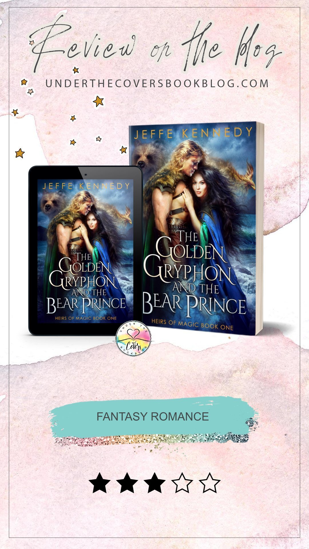 Review: The Golden Gryphon and the Bear Prince by Jeffe Kennedy