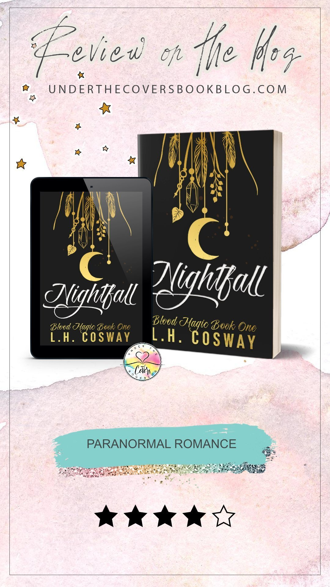 ARC Review: Nightfall by L.H. Cosway