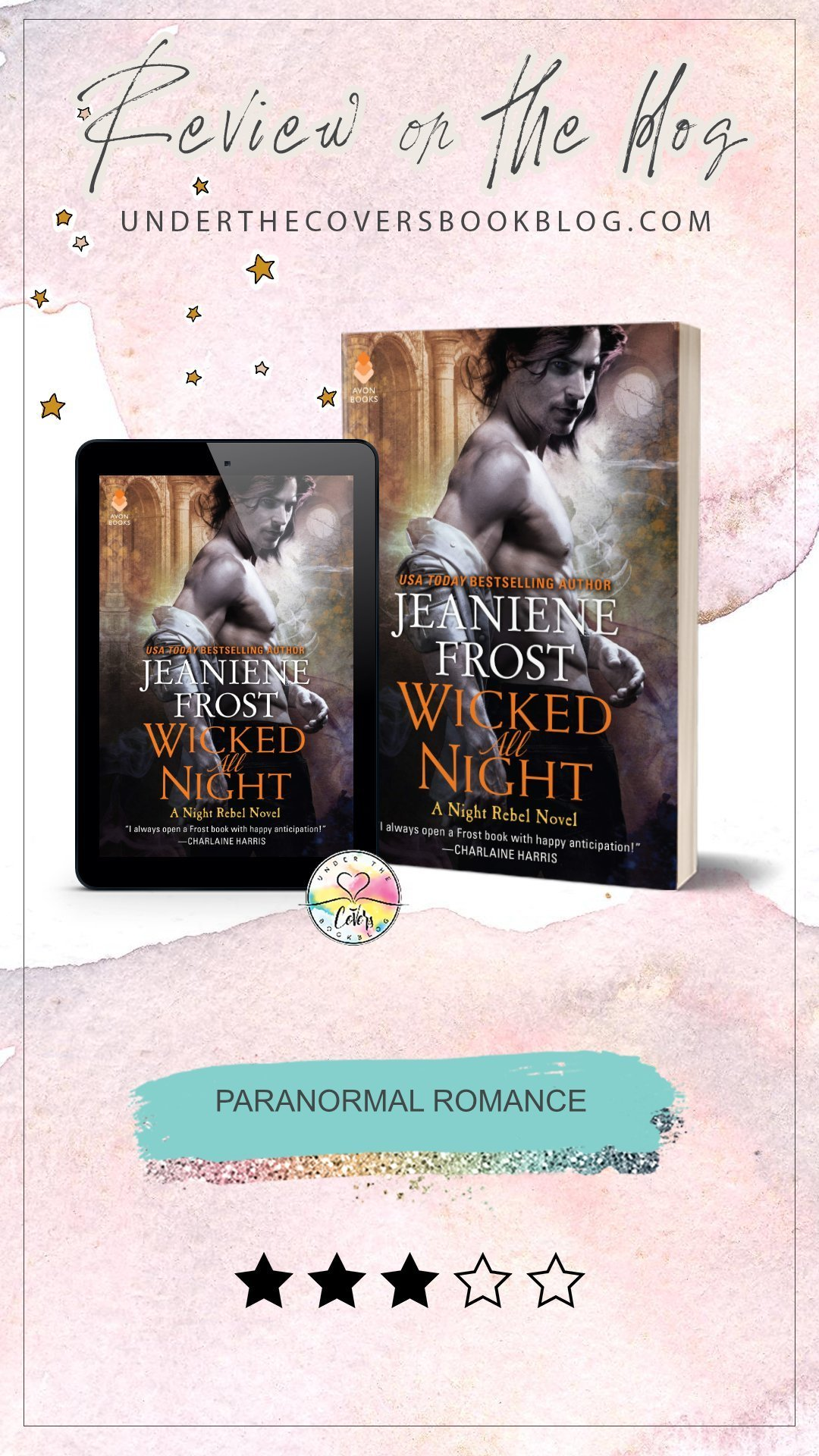 ARC Review: Wicked All Night by Jeaniene Frost
