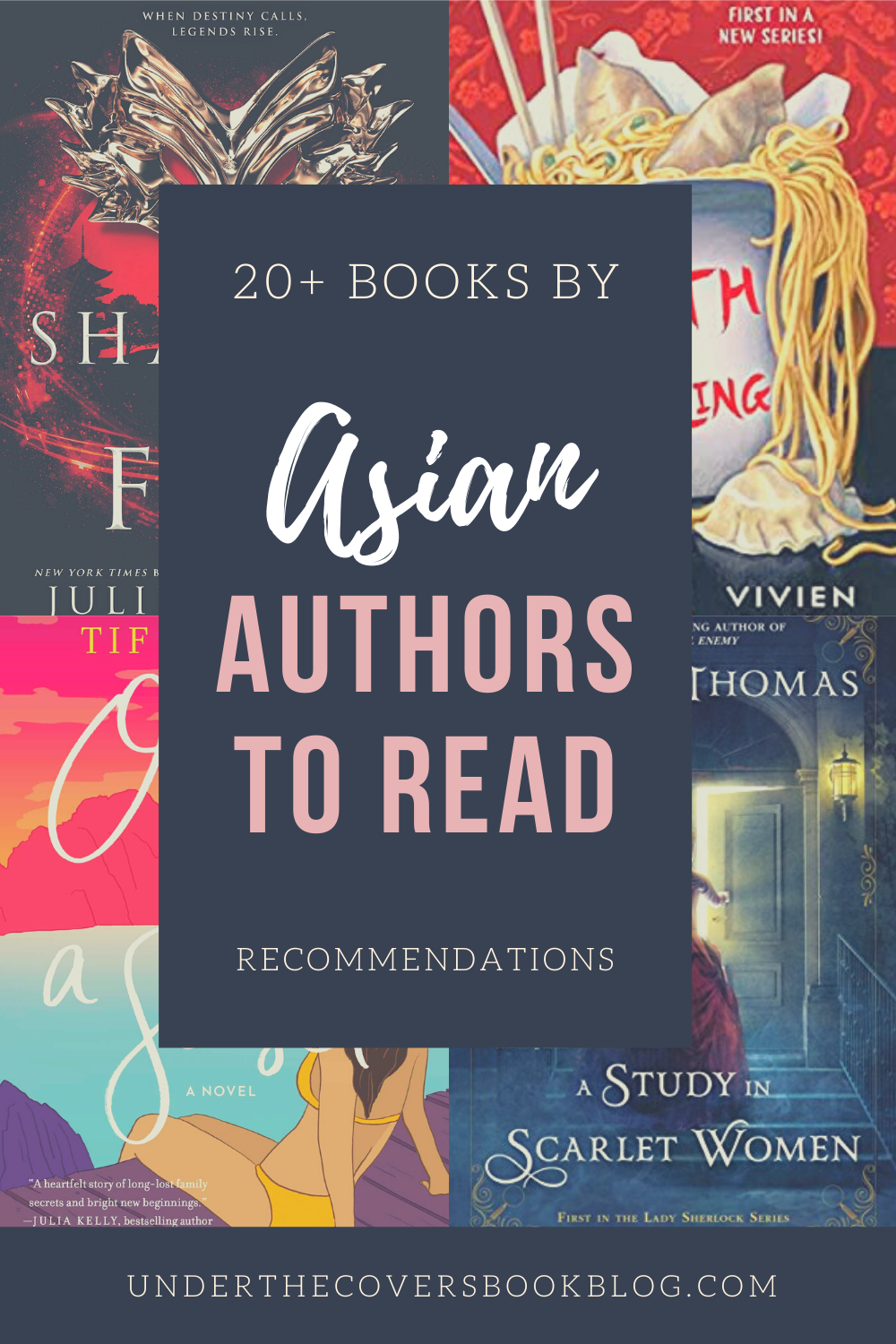 Asian Authors to Add to Your TBR