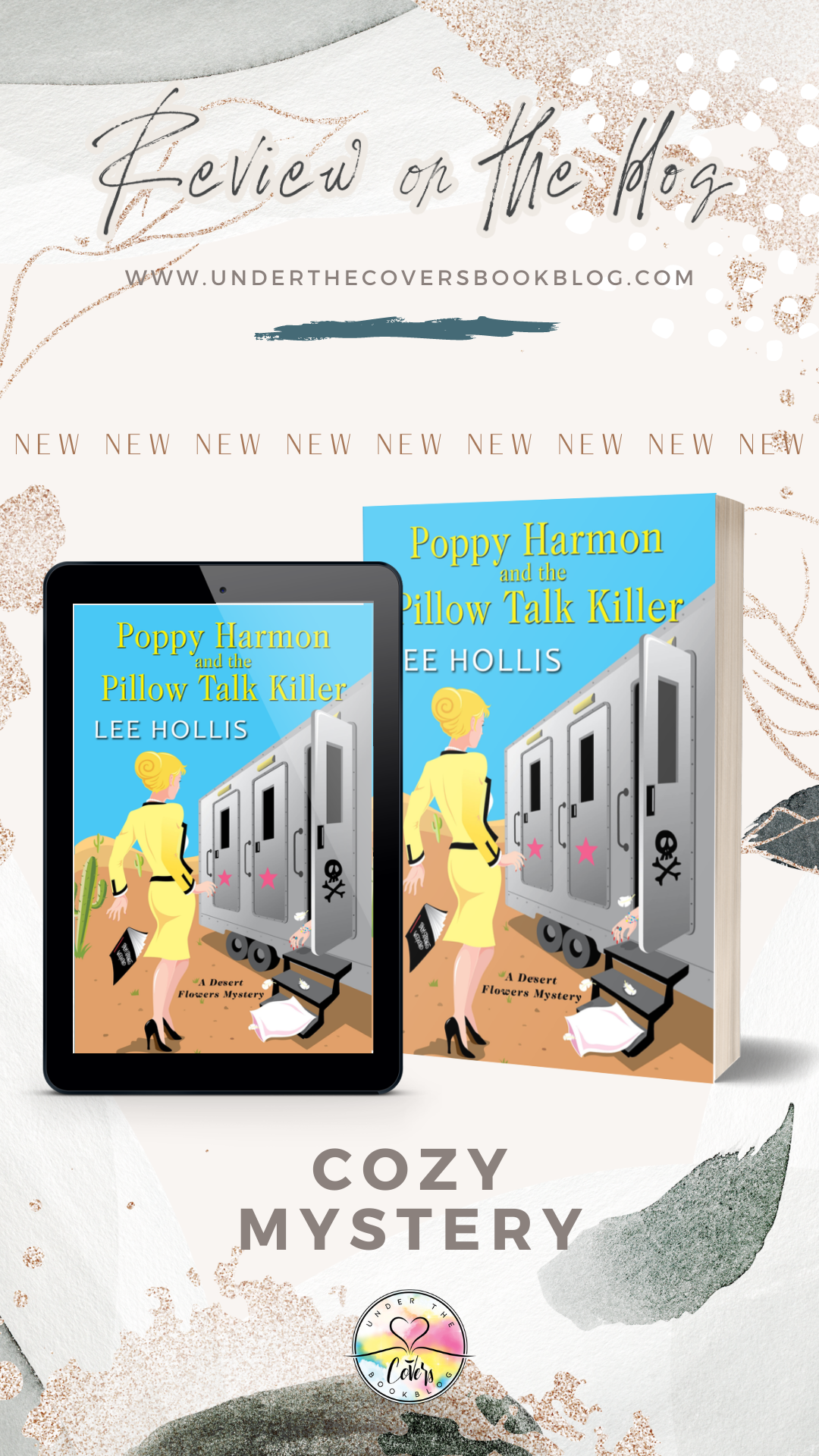 ARC Review: Poppy Harmon and the Pillow Talk Killer by Lee Hollis