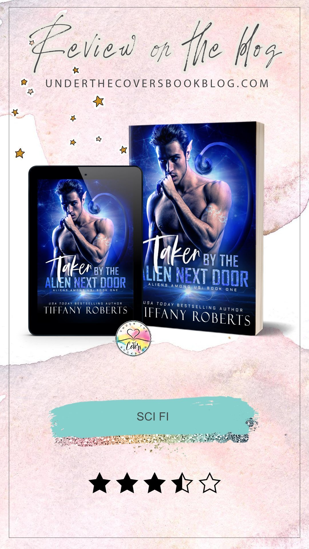 Review: Taken by the Alien Next Door by Tiffany Roberts