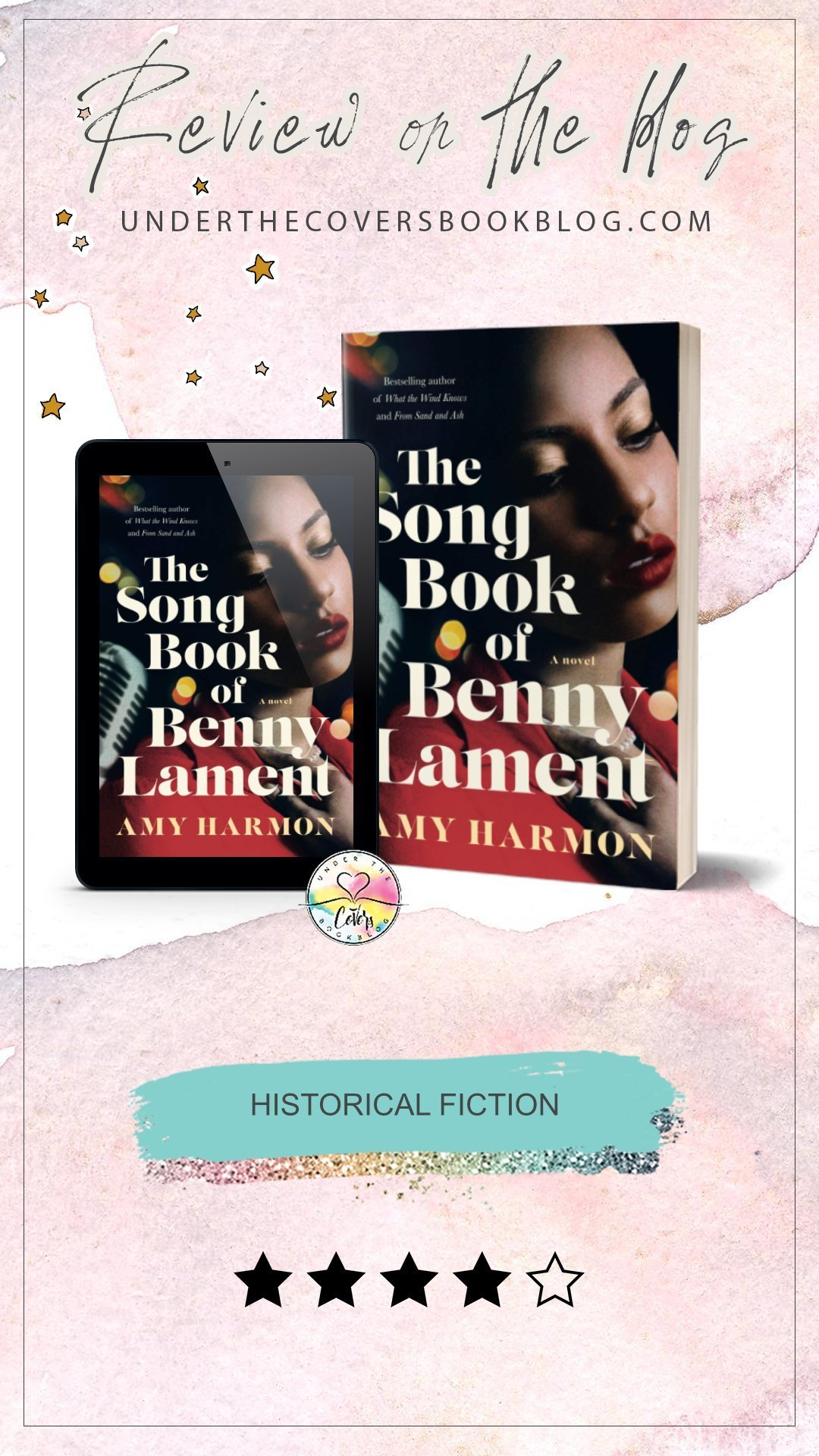ARC Review: The Songbook of Benny Lament by Amy Harmon
