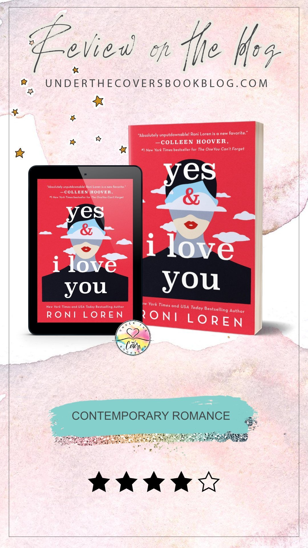 ARC Review: Yes & I Love You by Roni Loren