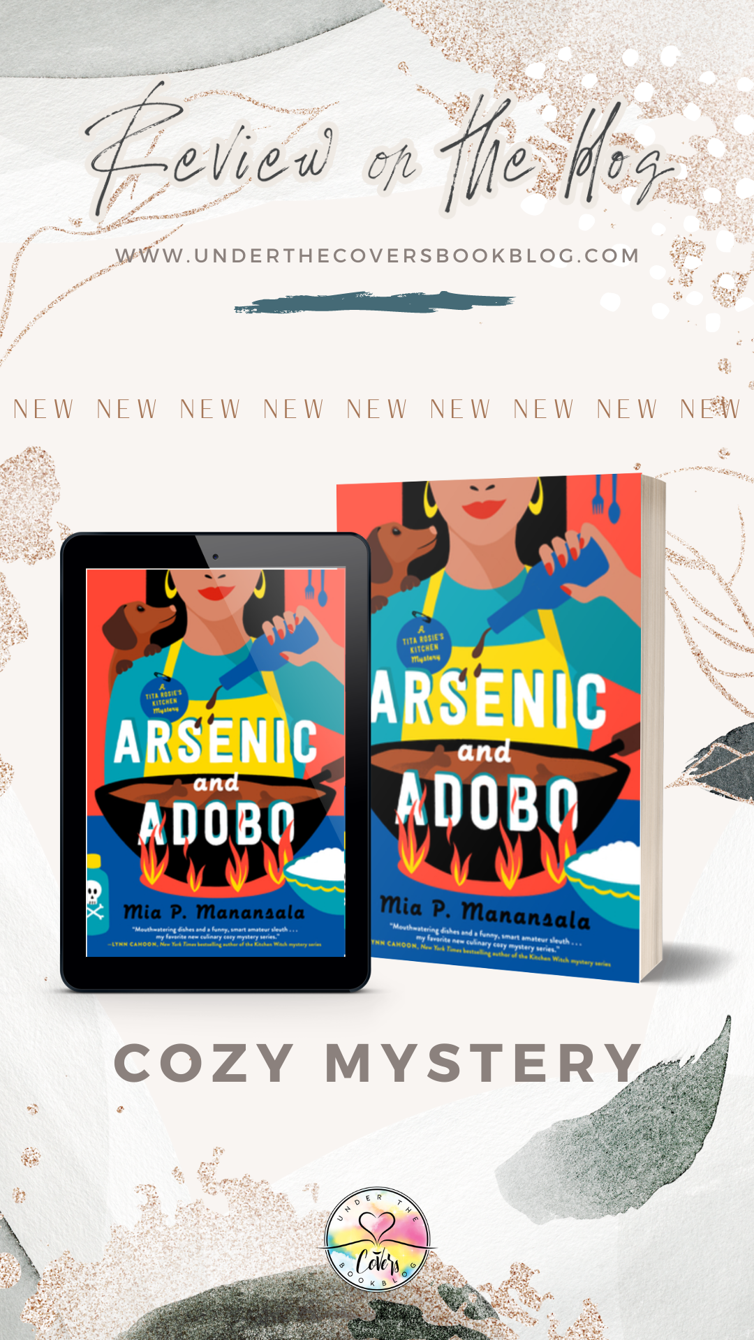 ARC Review: Arsenic and Adobo by Mia P. Manansala