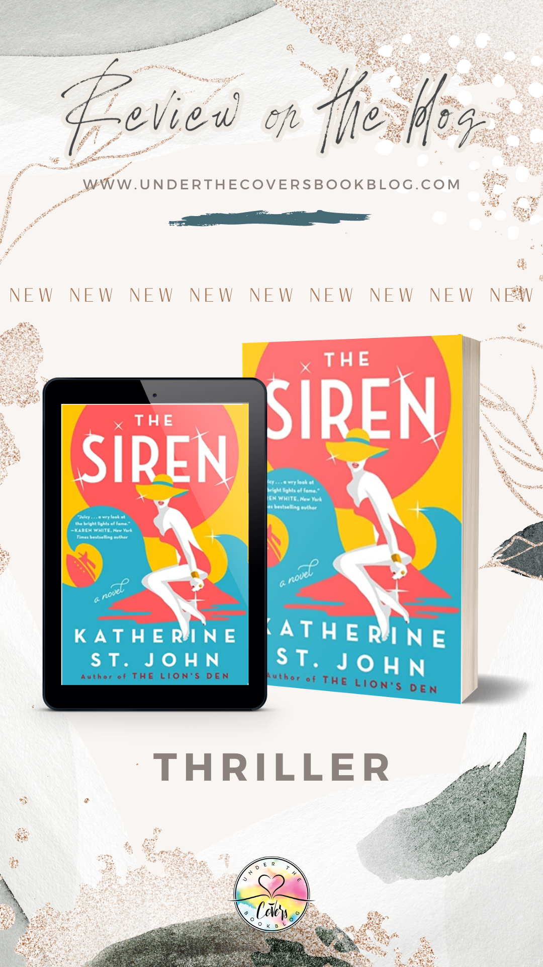 ARC Review: The Siren by Katherine St. John