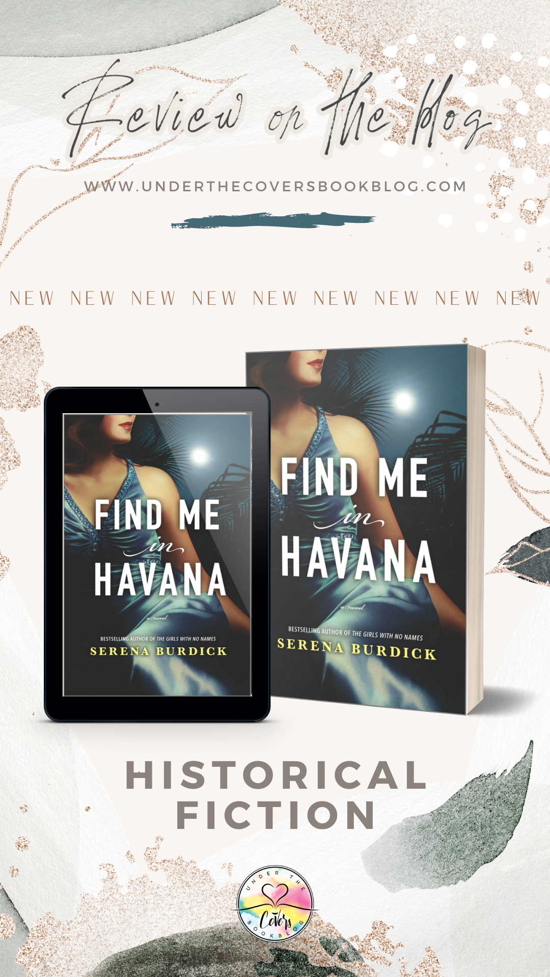 ARC Review: Find Me in Havana by Serena Burdick