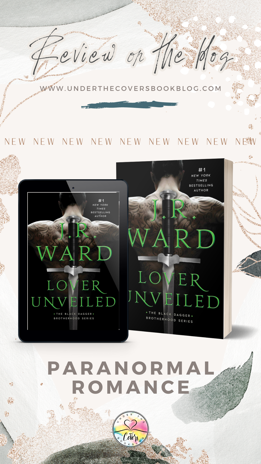 ARC Review: Lover Unveiled by J.R. Ward