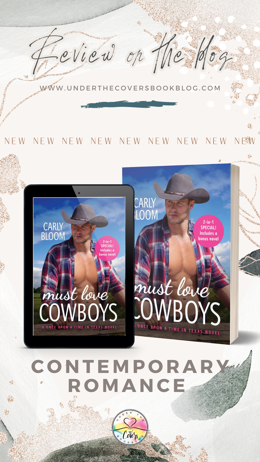 ARC Review: Must Love Cowboys by Carly Bloom
