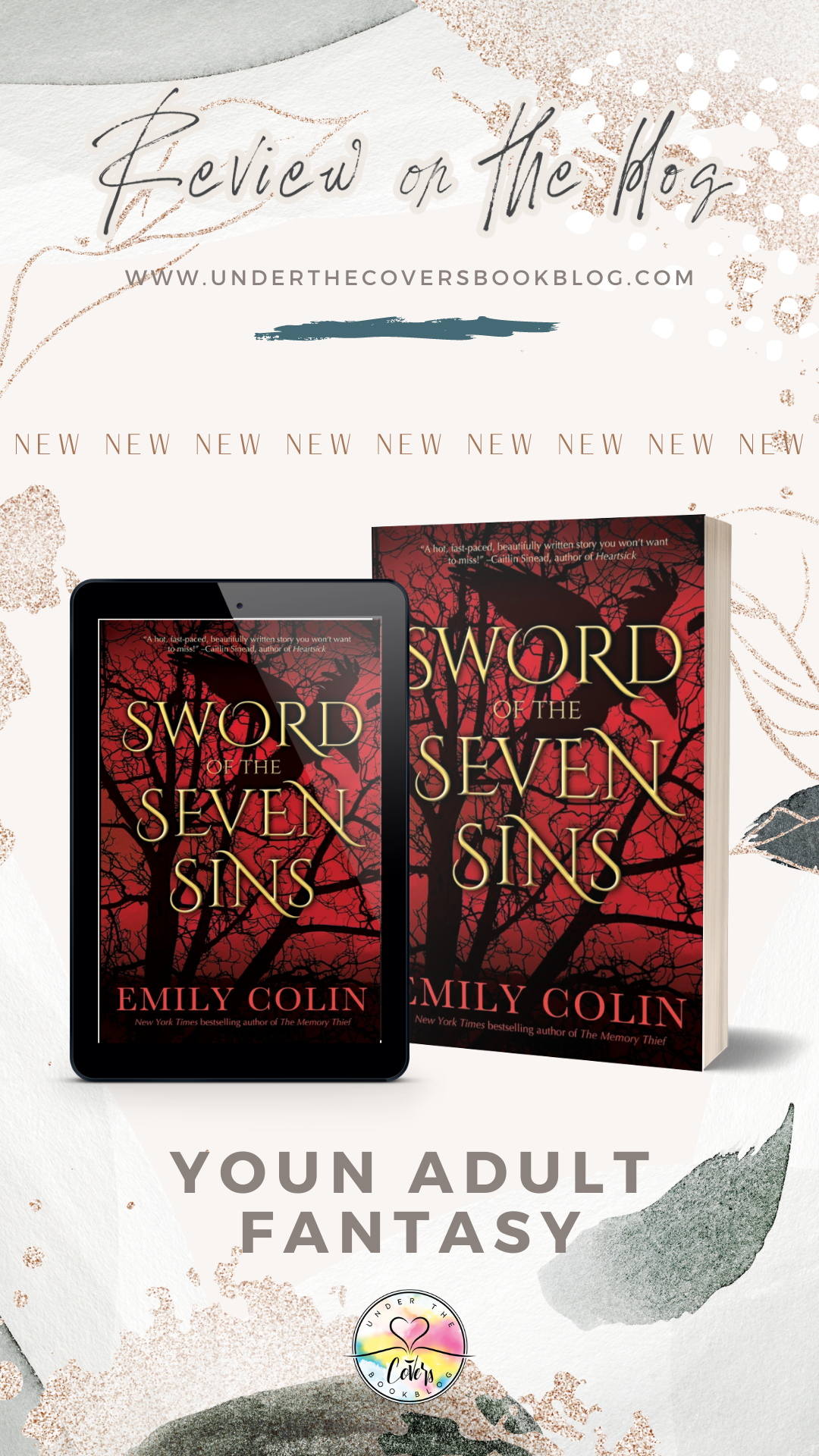 ARC Review: Sword of the Seven Sins by Emily Colin