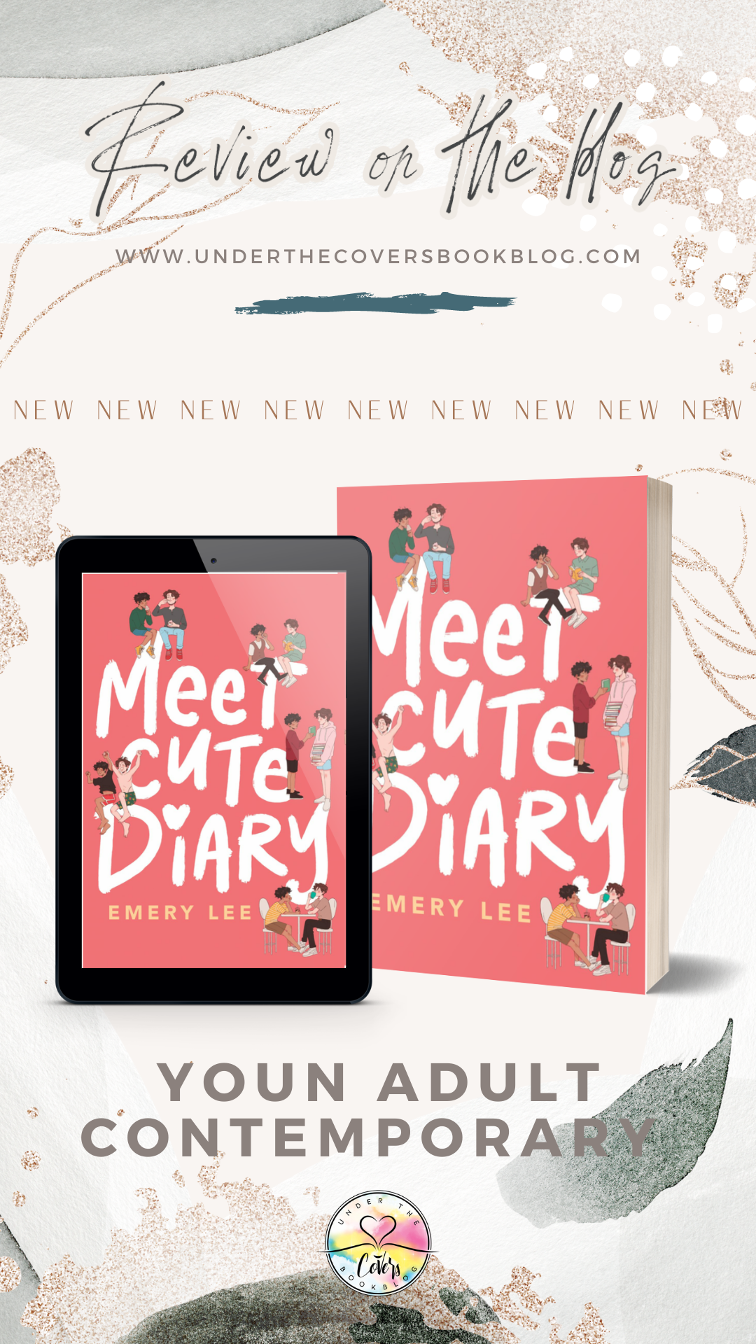 ARC Review: Meet Cute Diary by Emery Lee