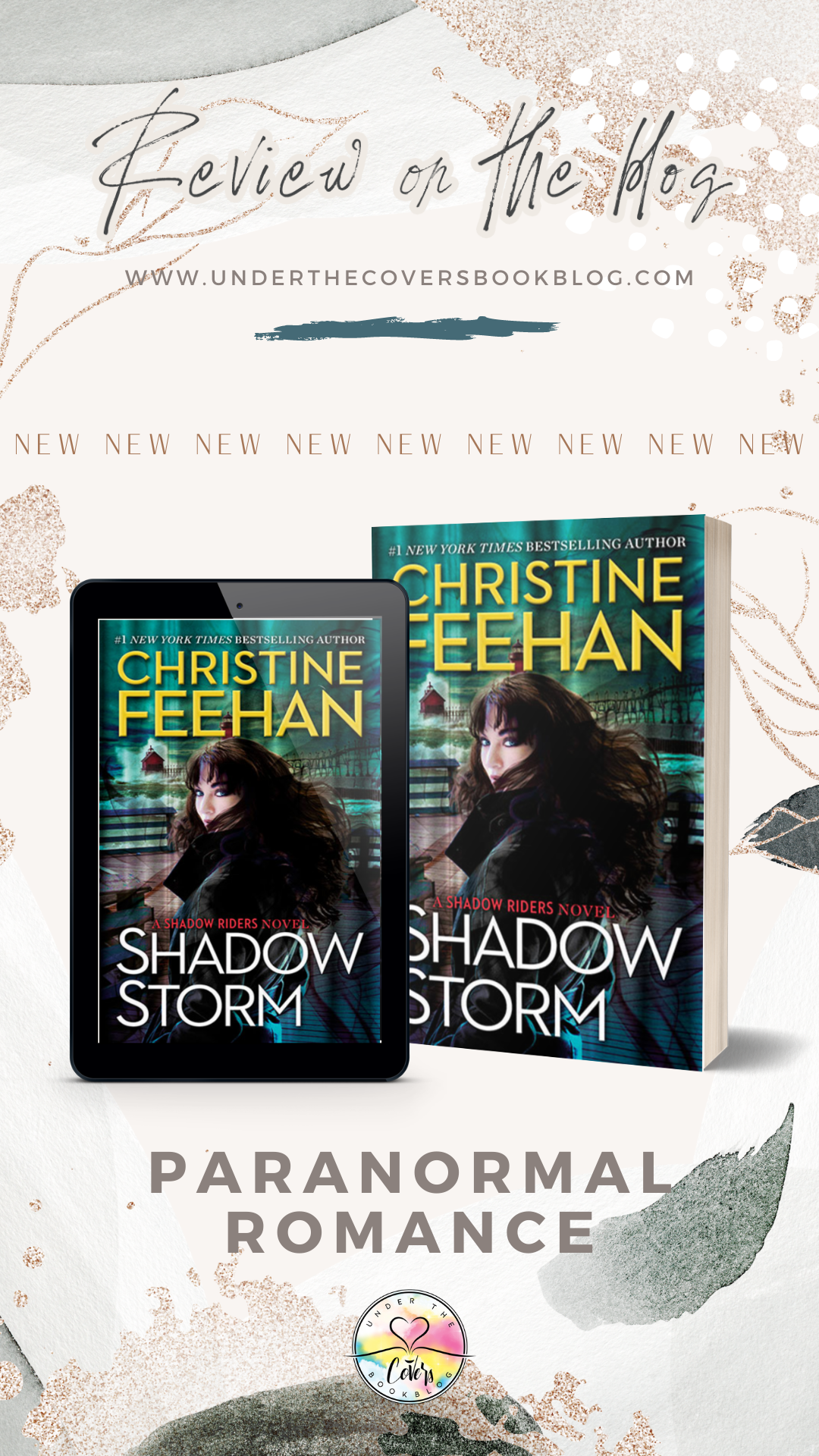 ARC Review: Shadow Storm by Christine Feehan