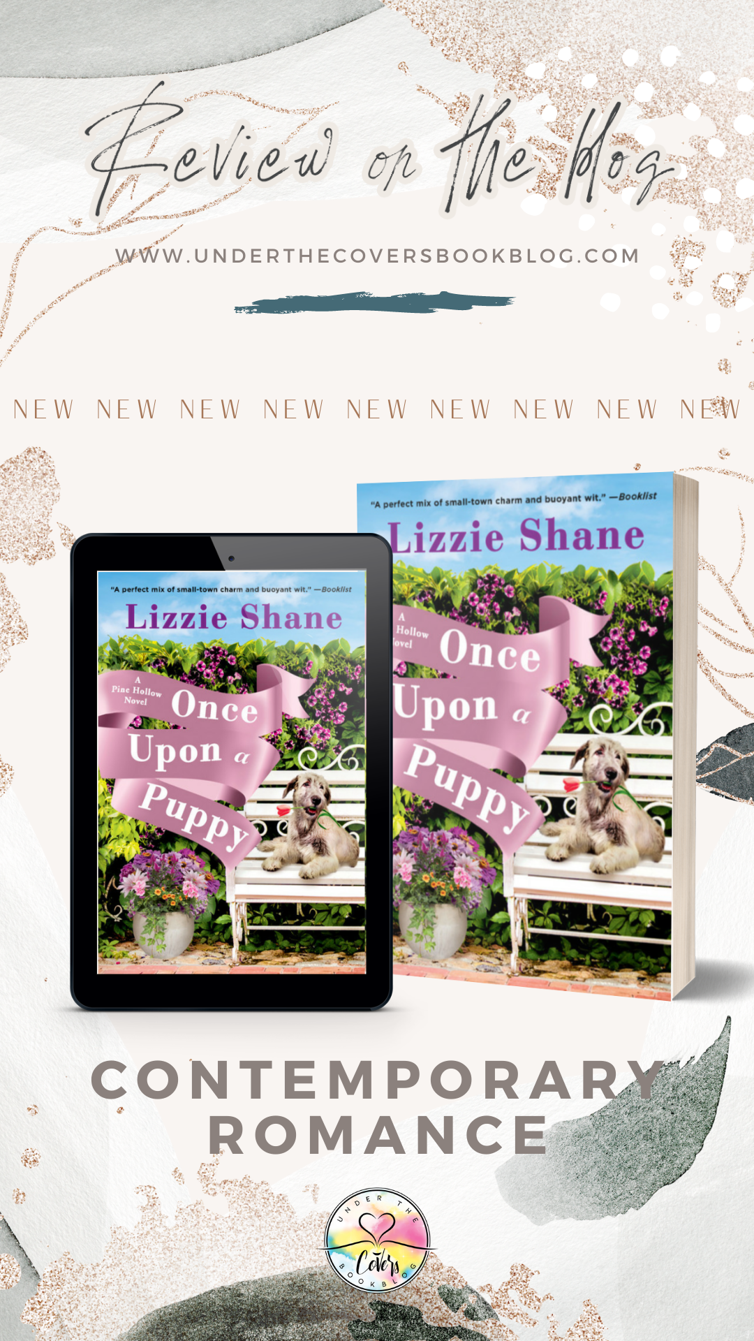 ARC Review: Once Upon a Puppy by Lizzie Shane
