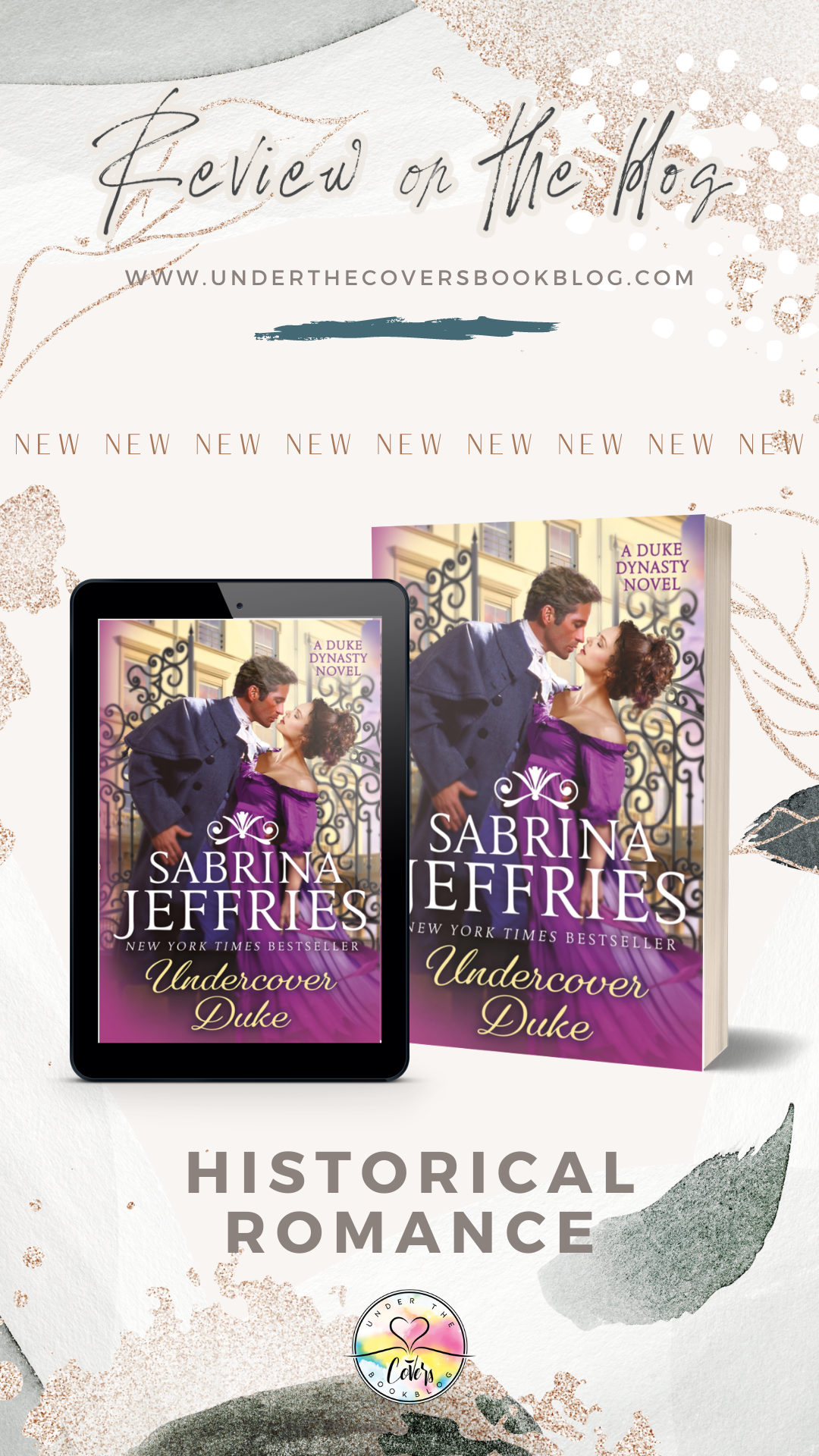 ARC Review: Undercover Duke by Sabrina Jeffries