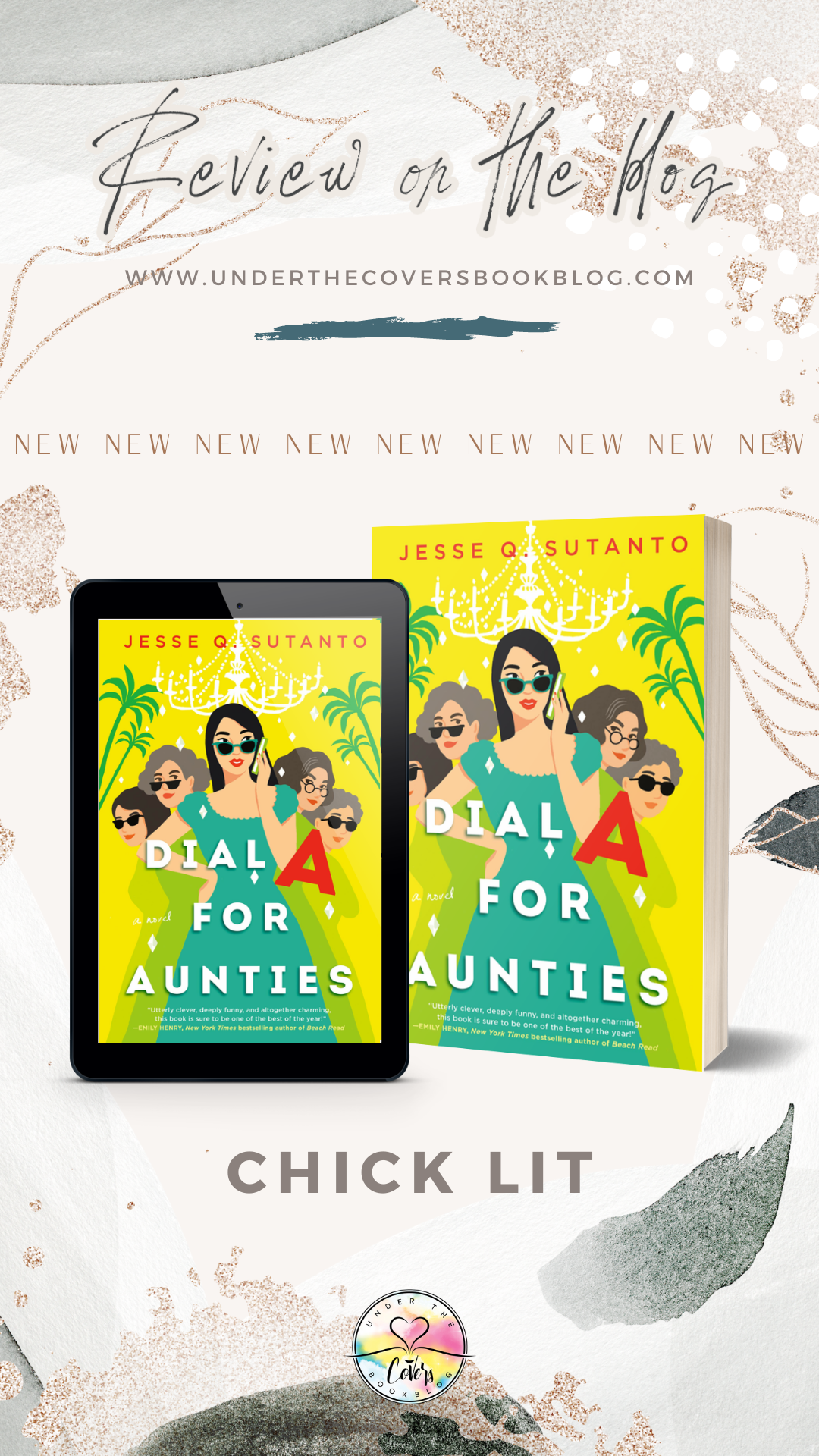 ARC Review: Dial A For Aunties by Jesse Q. Sutanto