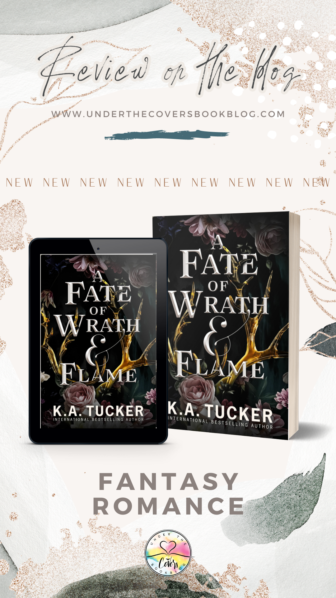 ARC Review: A Fate of Wrath and Flame by K.A. Tucker