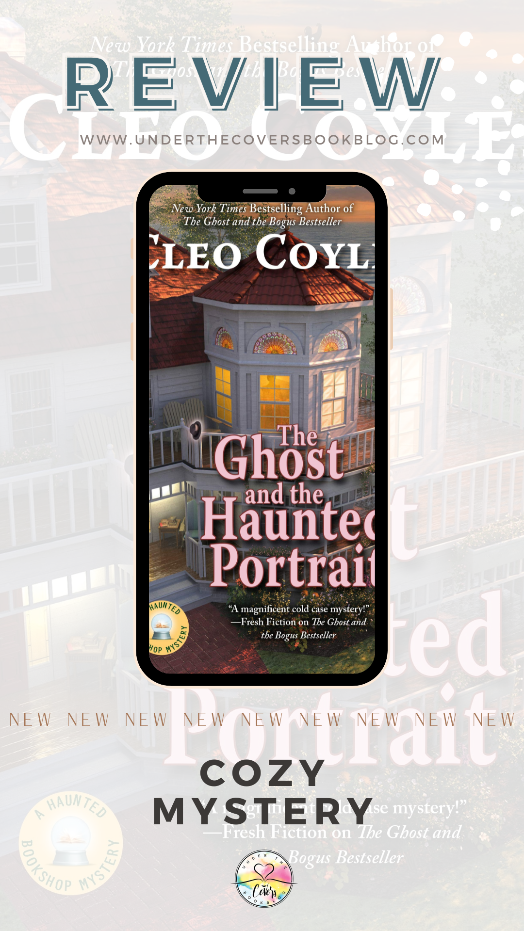 ARC Review: The Ghost and the Haunted Portrait by Cleo Coyle
