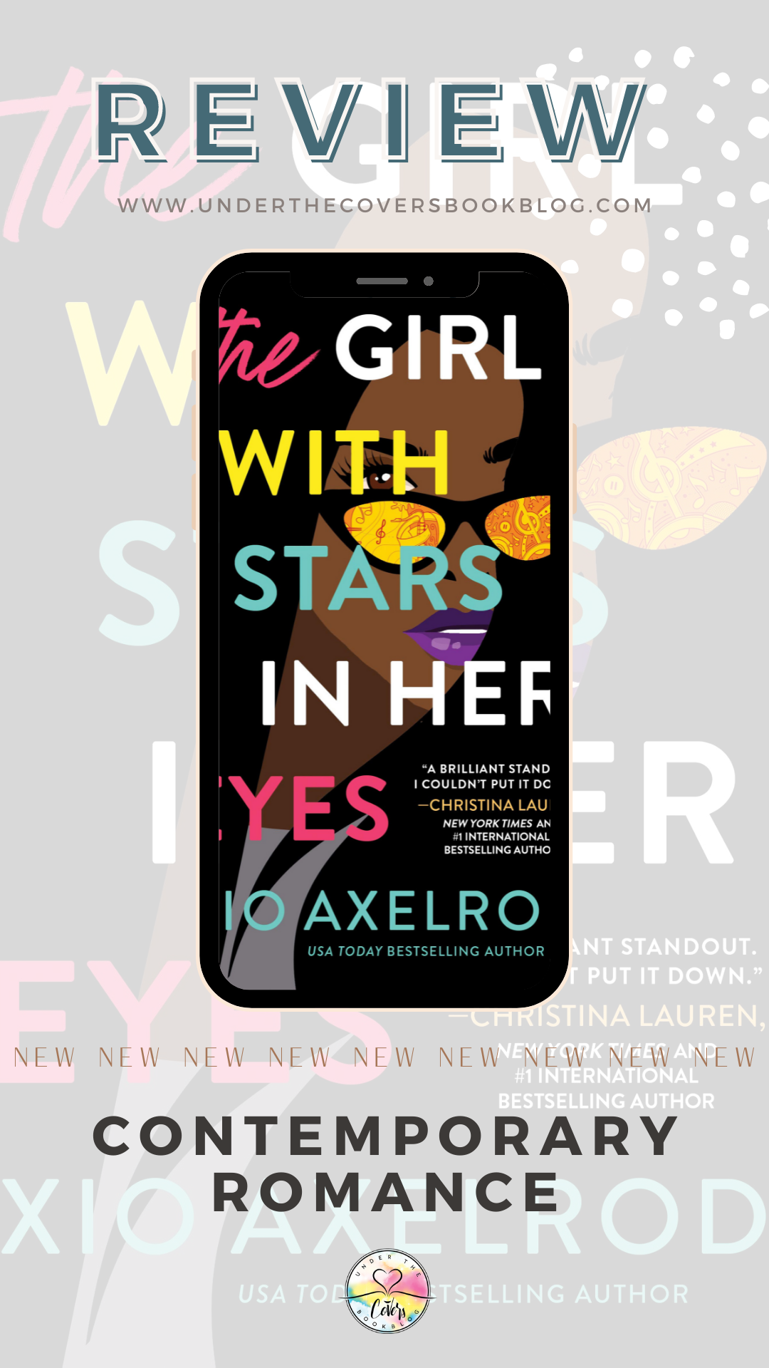 ARC Review: The Girl with Stars in Her Eyes by Xio Axelrod