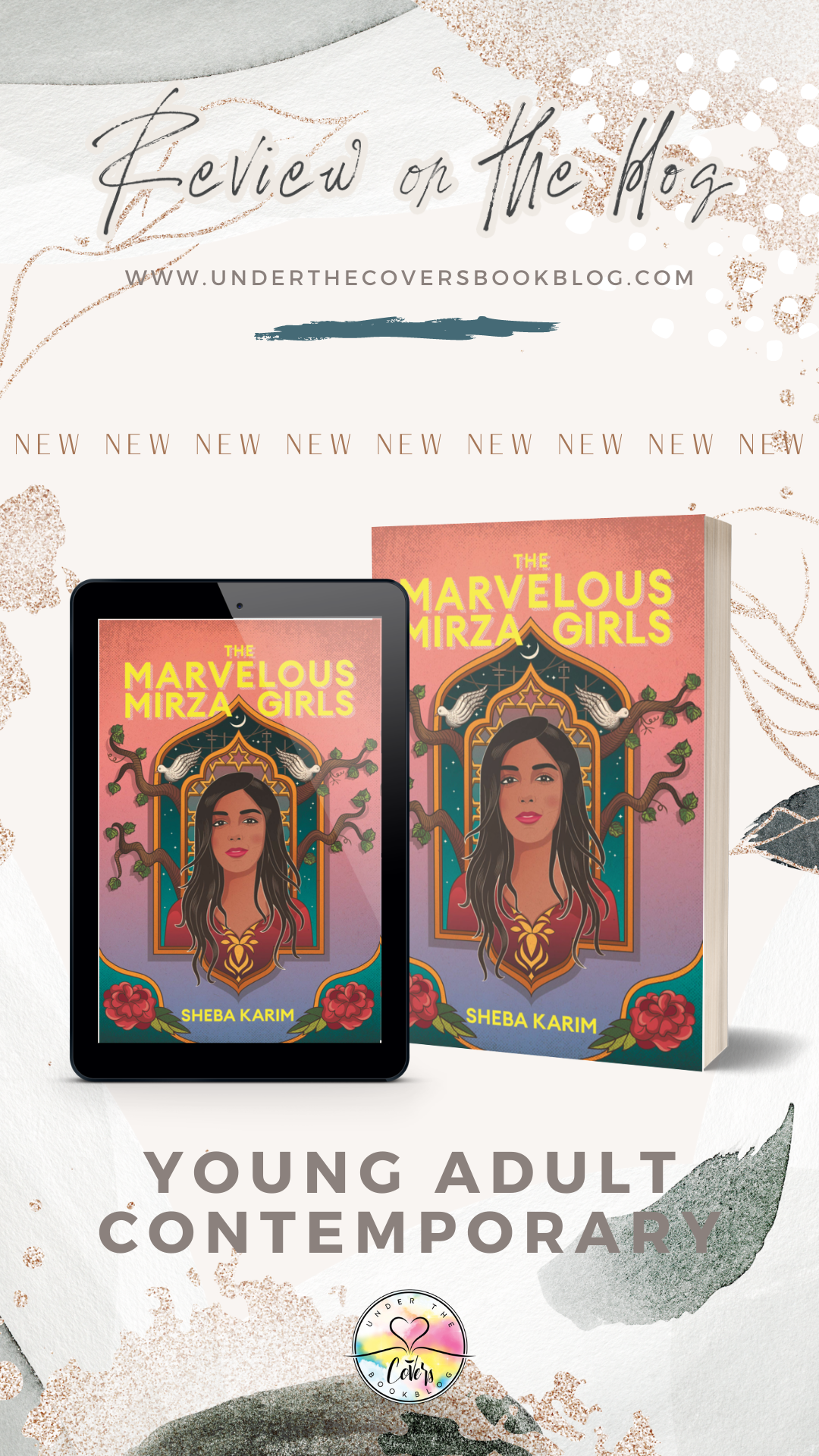 ARC Review: The Marvelous Mirza Girls by Sheba Karim