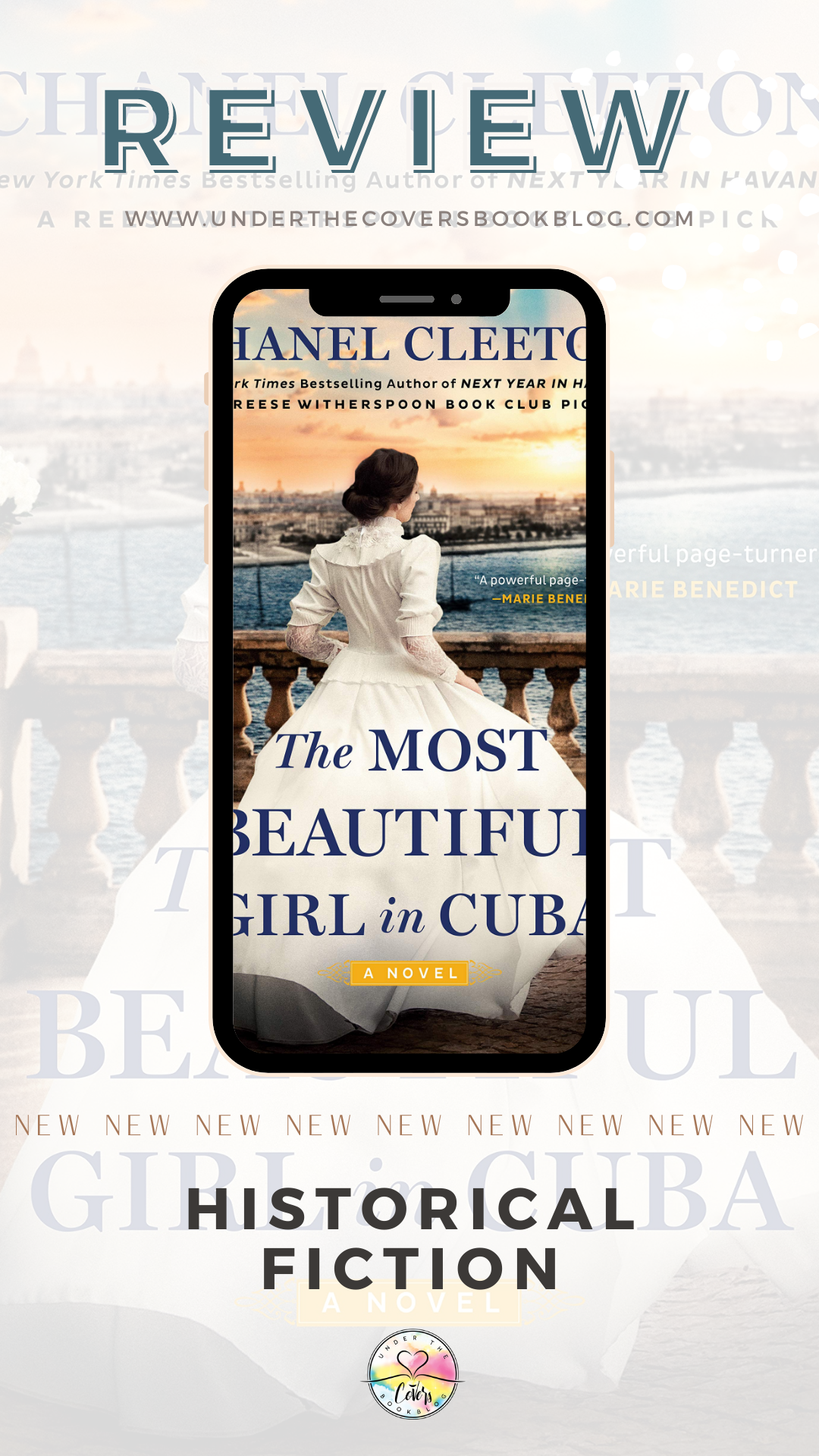 ARC Review: The Most Beautiful Girl in Cuba by Chanel Cleeton