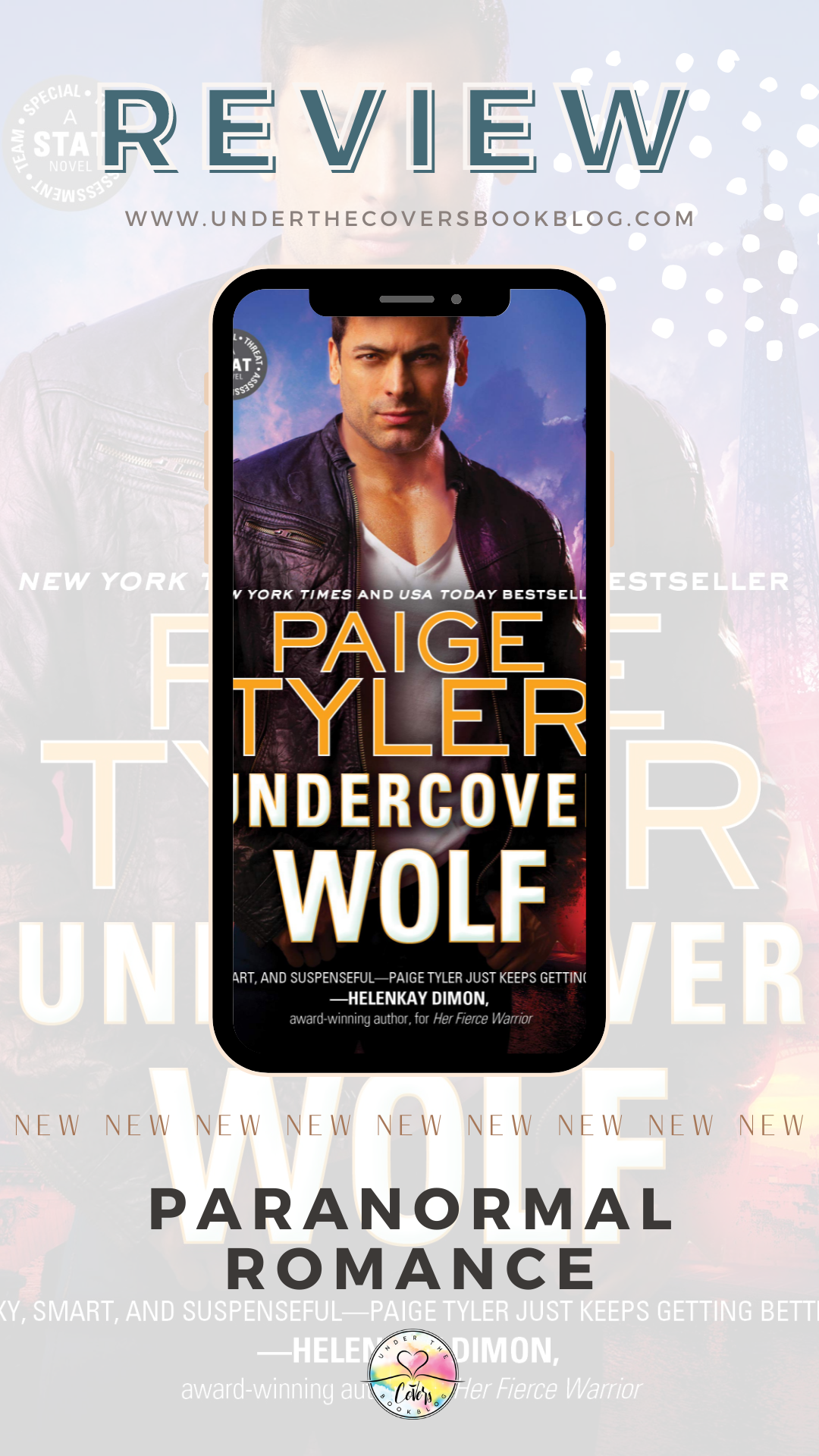 ARC Review: Undercover Wolf by Paige Tyler
