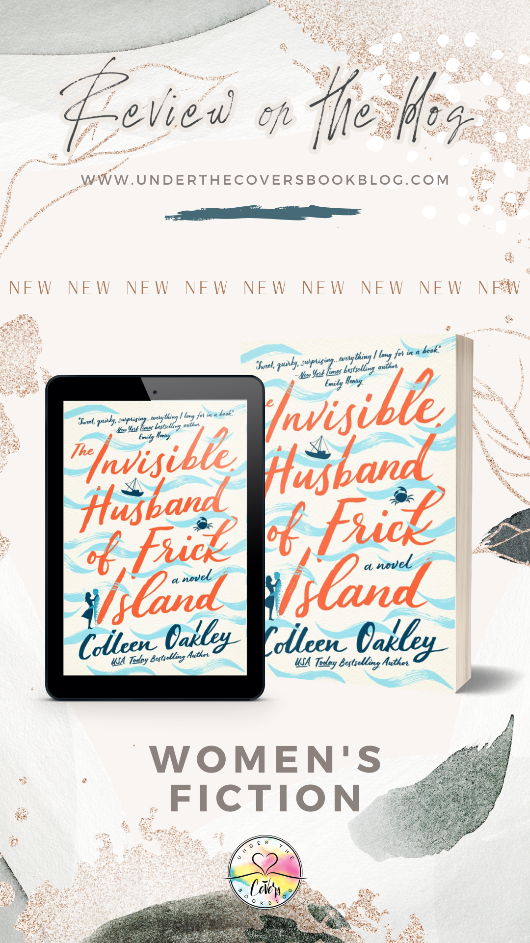 ARC Review: The Invisible Husband of Frick Island by Colleen Oakley