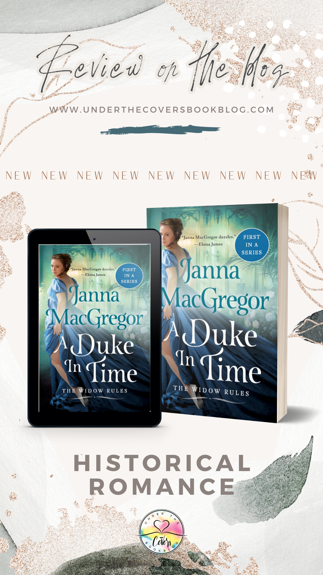 ARC Review: A Duke in Time by Janna MacGregor