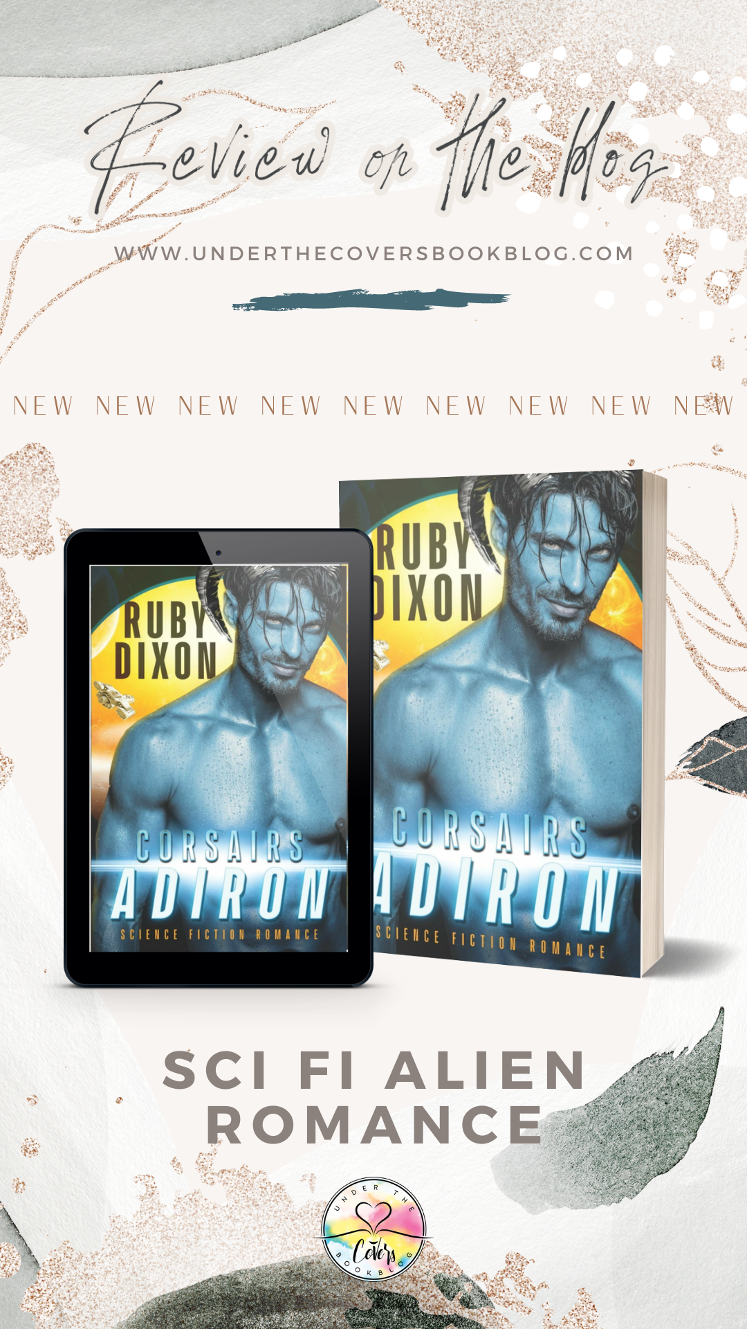 Review: Corsairs: Adiron by Ruby Dixon