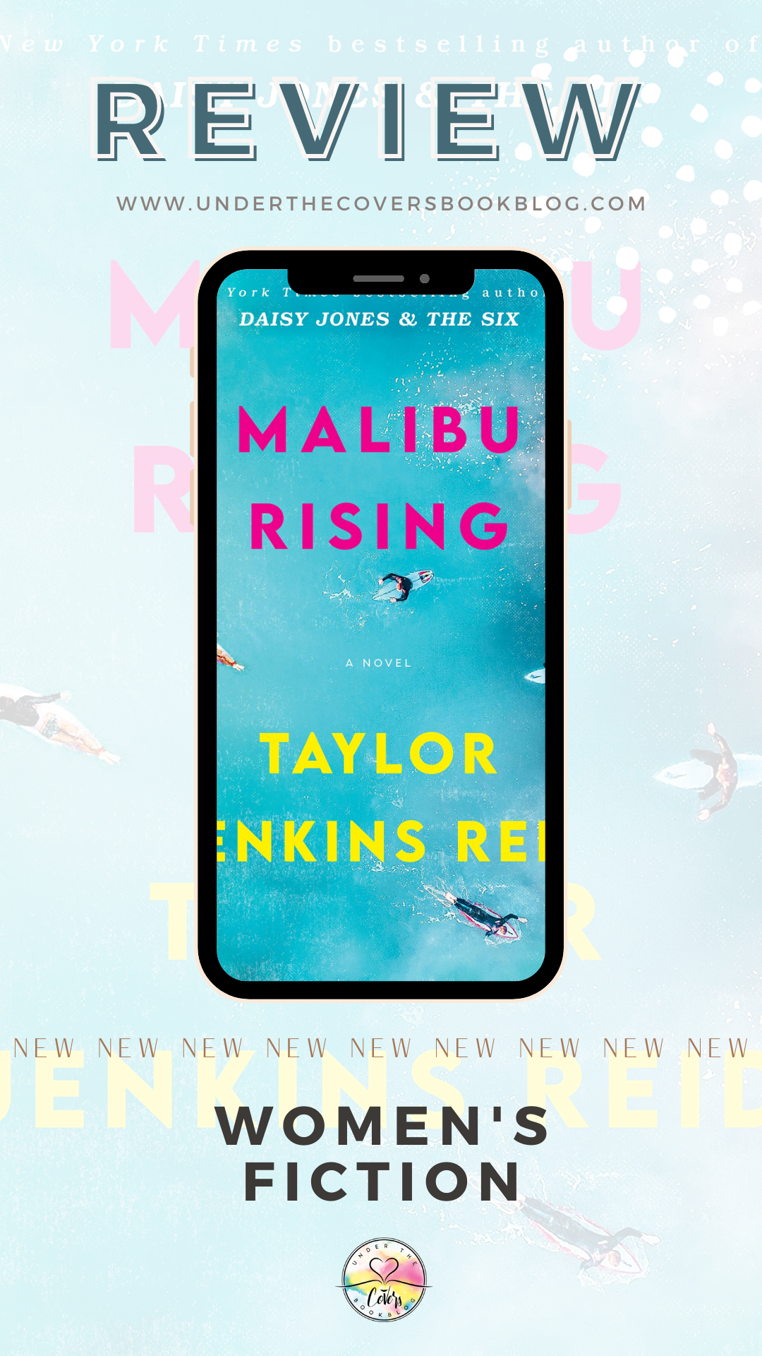 ARC Review: Malibu Rising by Taylor Jenkins Reid