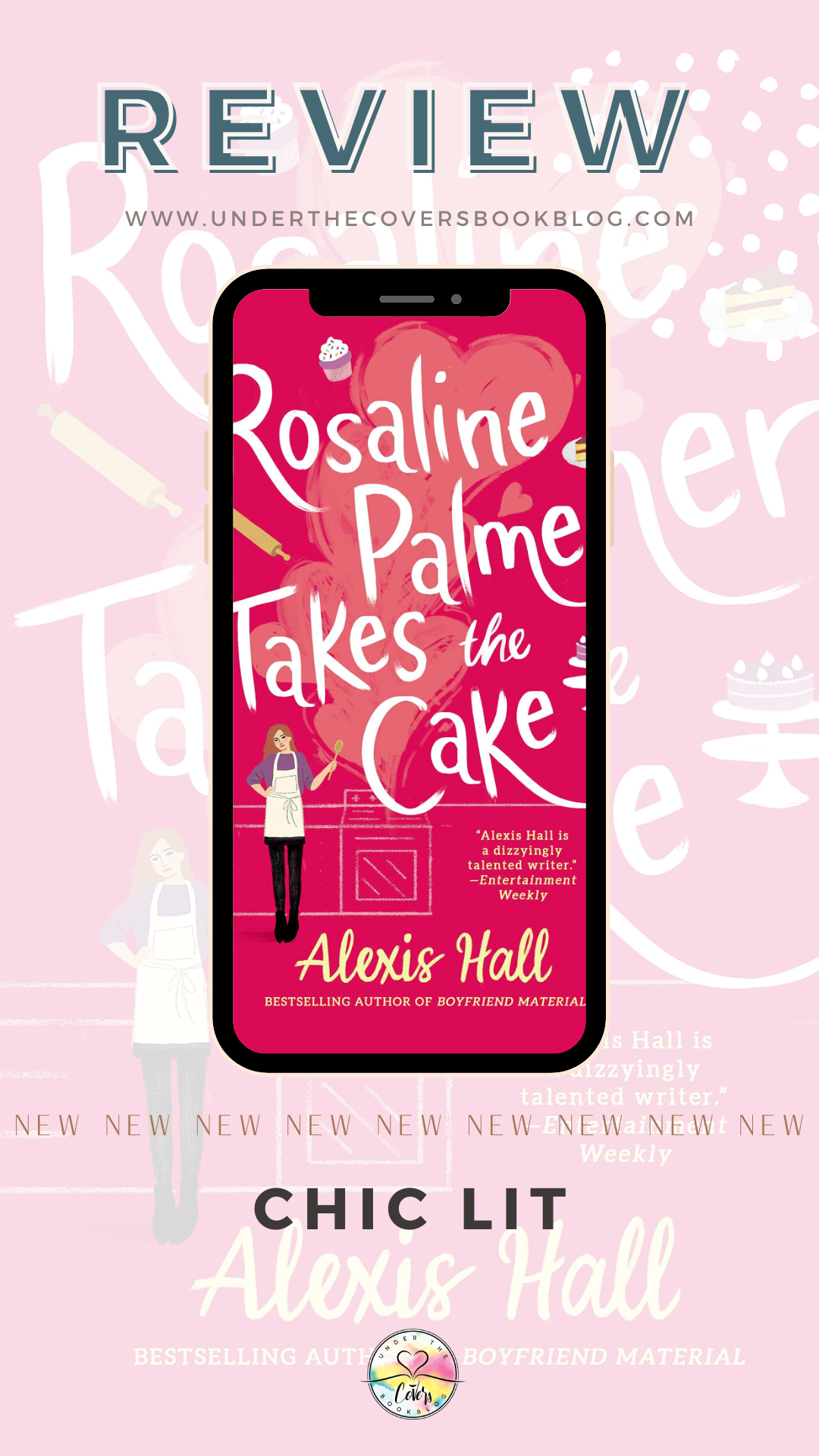 ARC Review: Rosaline Palmer Takes the Cake by Alexis Hall