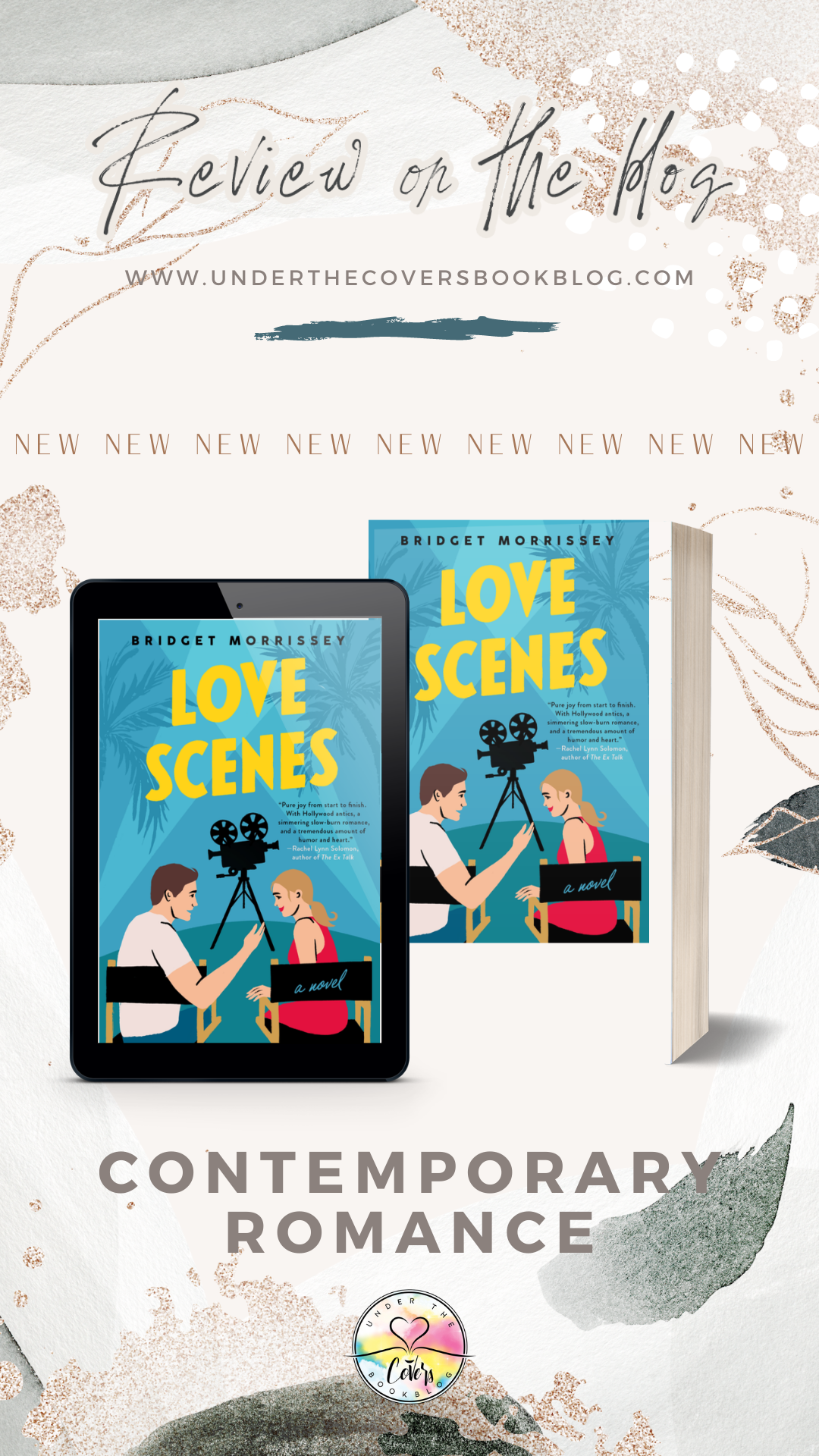 ARC Review: Love Scenes by Bridget Morrissey
