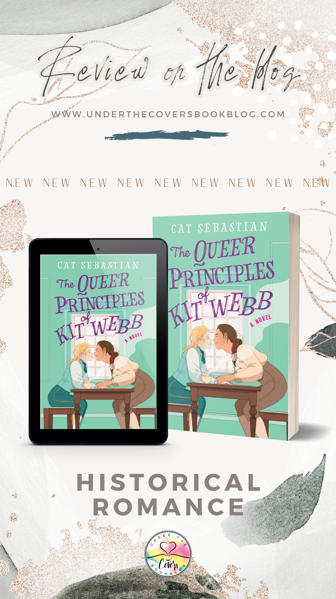 ARC Review: The Queer Principles of Kit Webb by Cat Sebastian