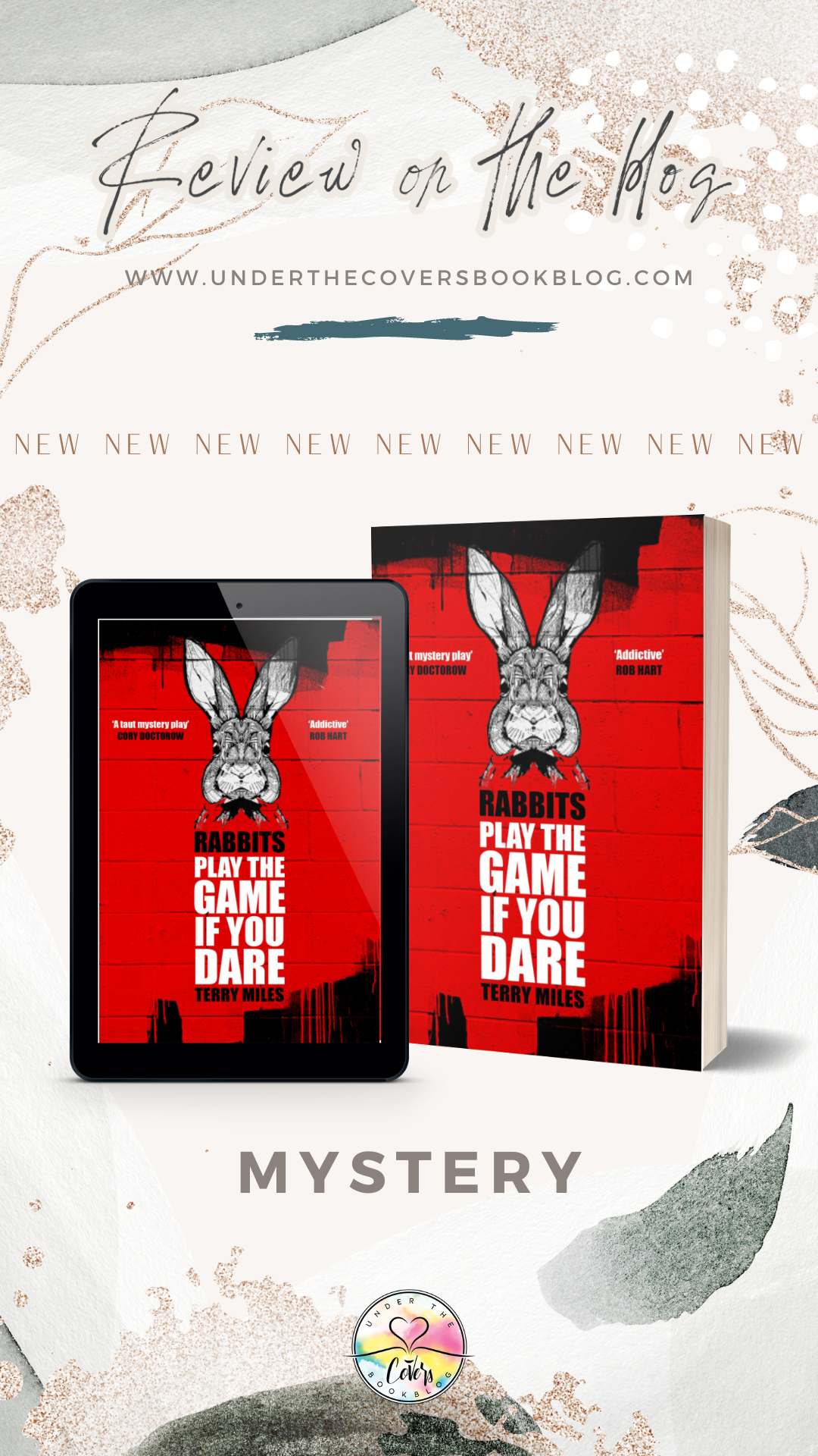 ARC Review: Rabbits by Terry Miles