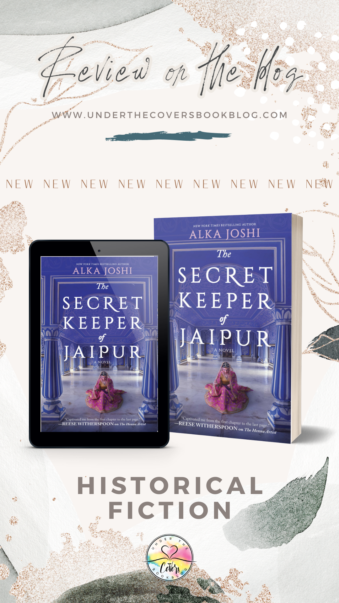 ARC Review: The Secret Keeper of Jaipur by Alka Joshi