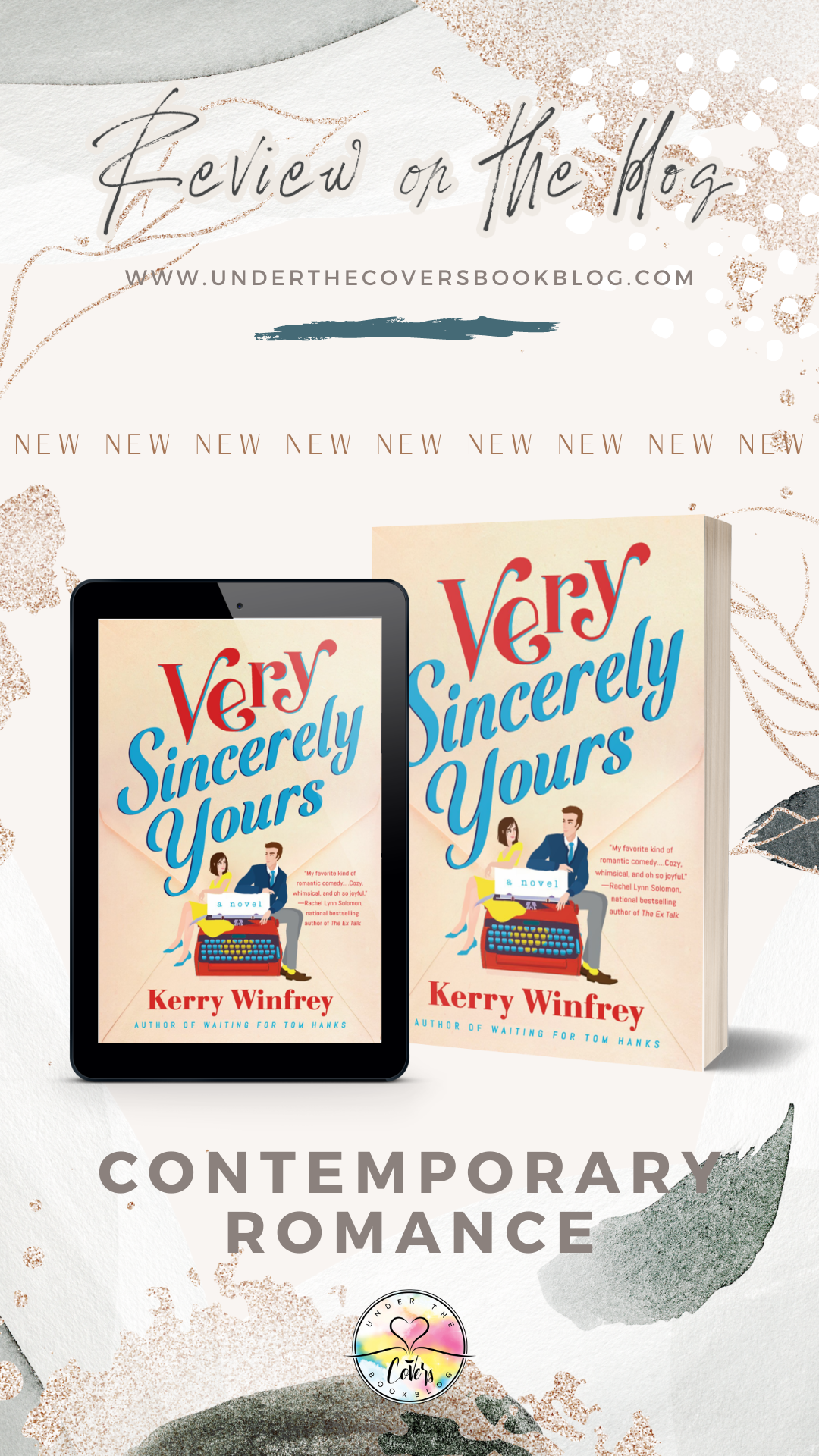 ARC Review: Very Sincerely Yours by Kerry Winfrey