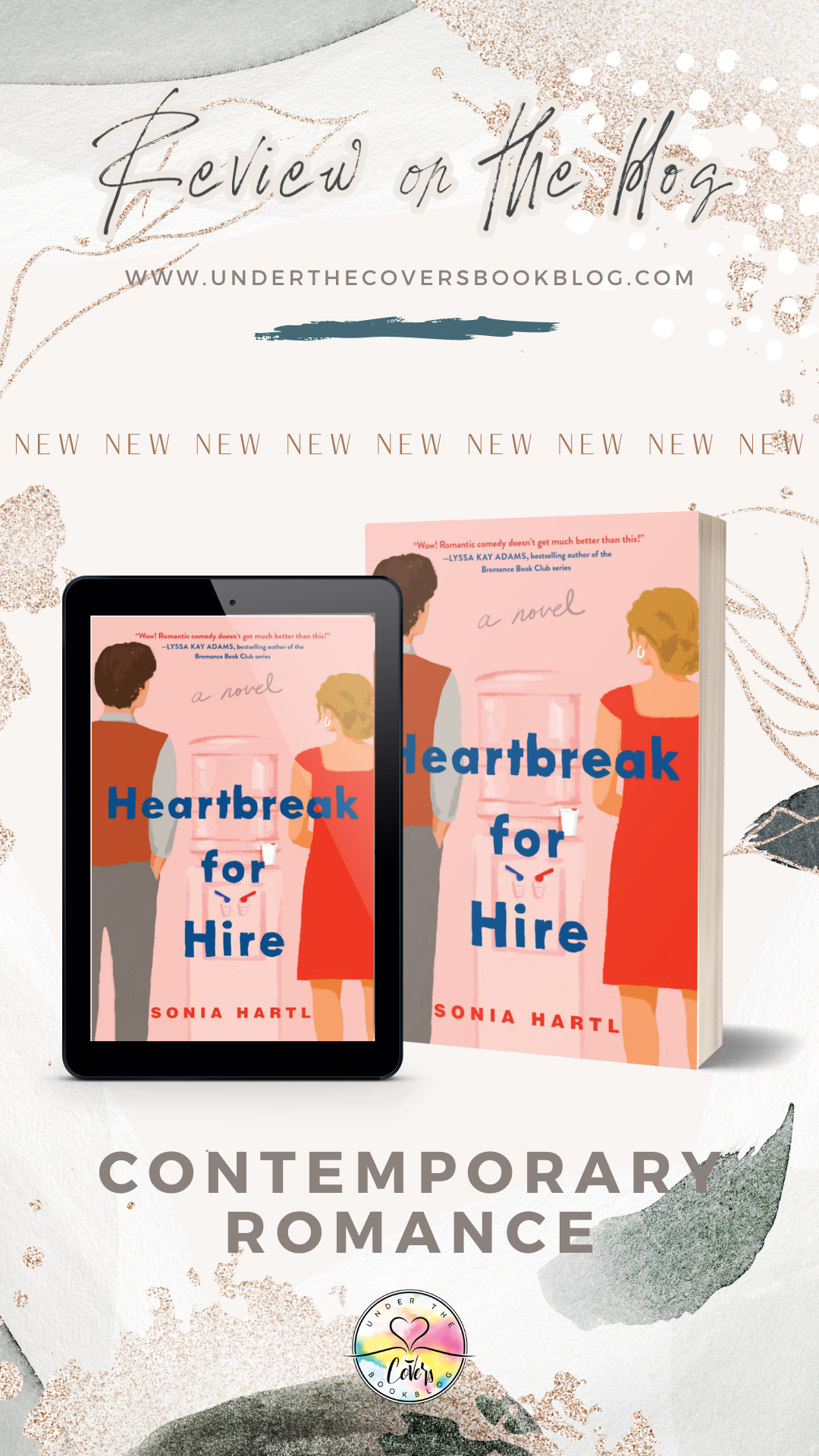 ARC Review: Heartbreak for Hire by Sonia Hartl