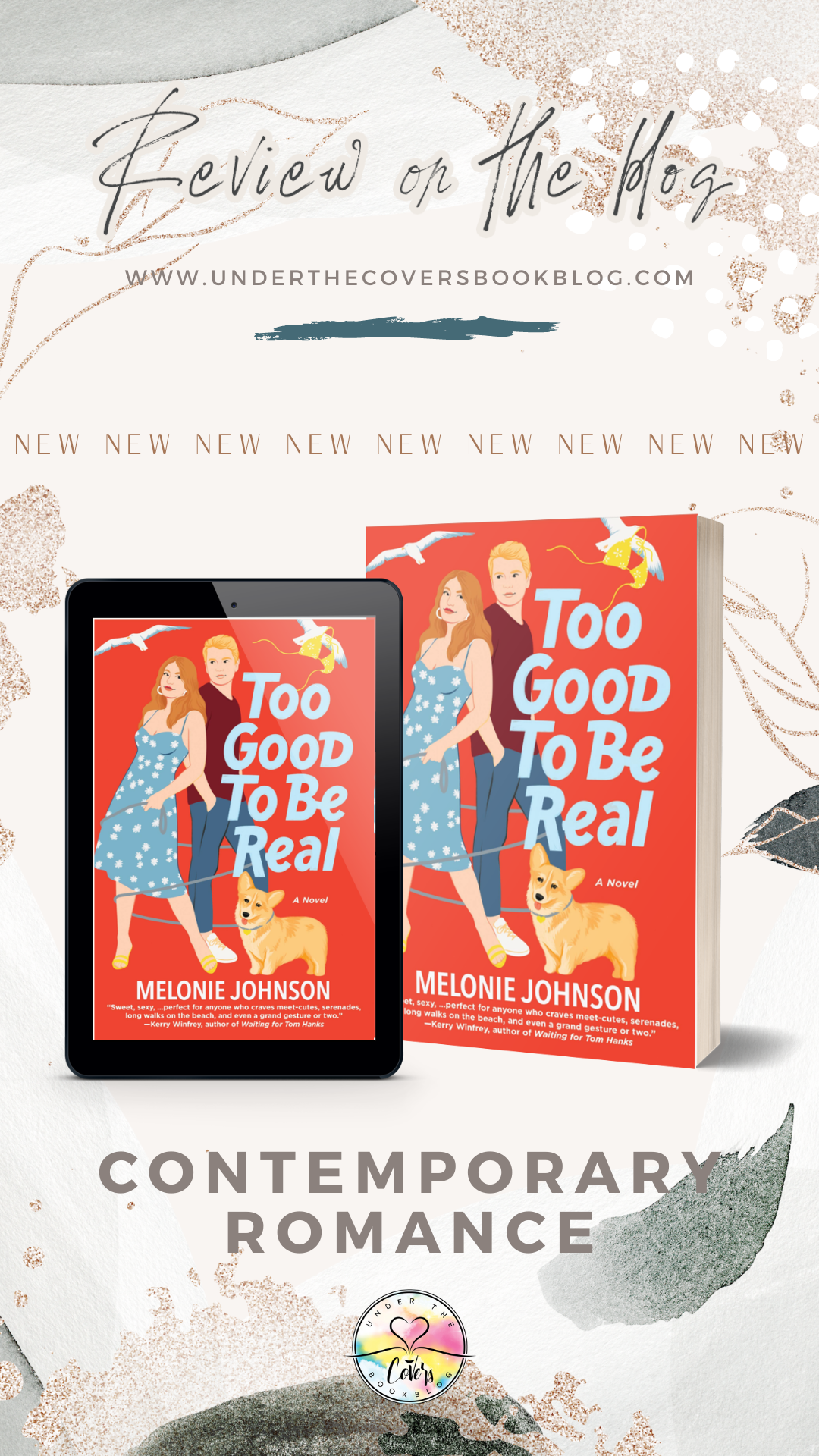 ARC Review: Too Good to Be Real by Melonie Johnson
