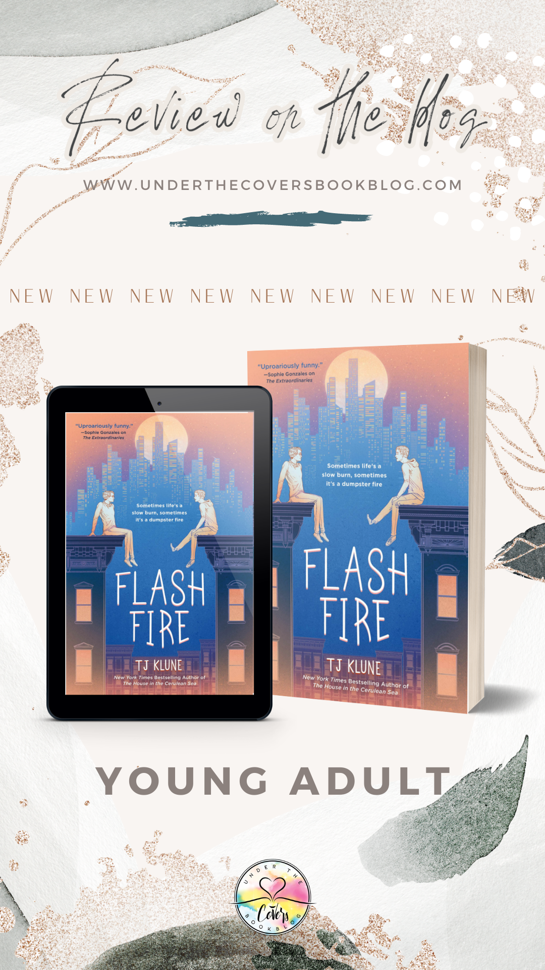 ARC Review: Flash Fire by T.J. Klune