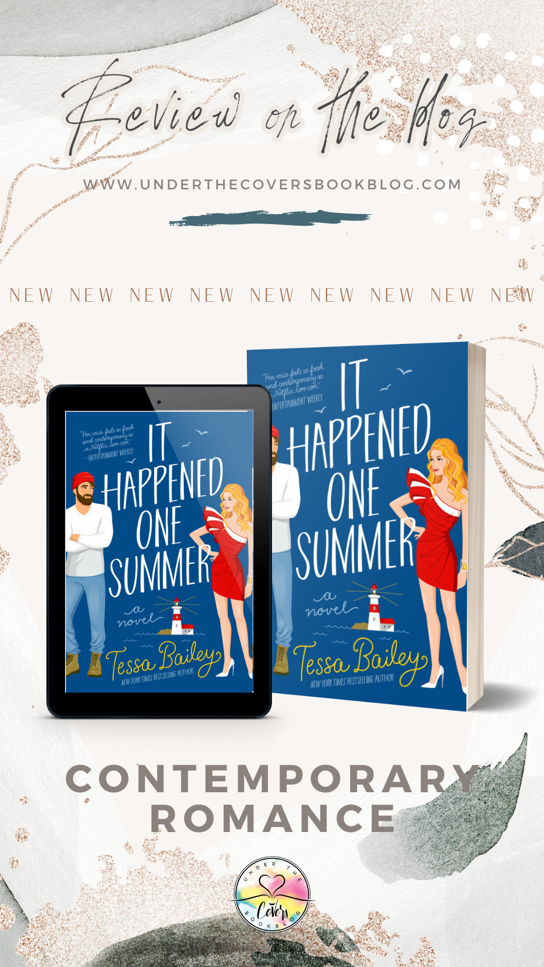 ARC Review: It Happened One Summer by Tessa Bailey