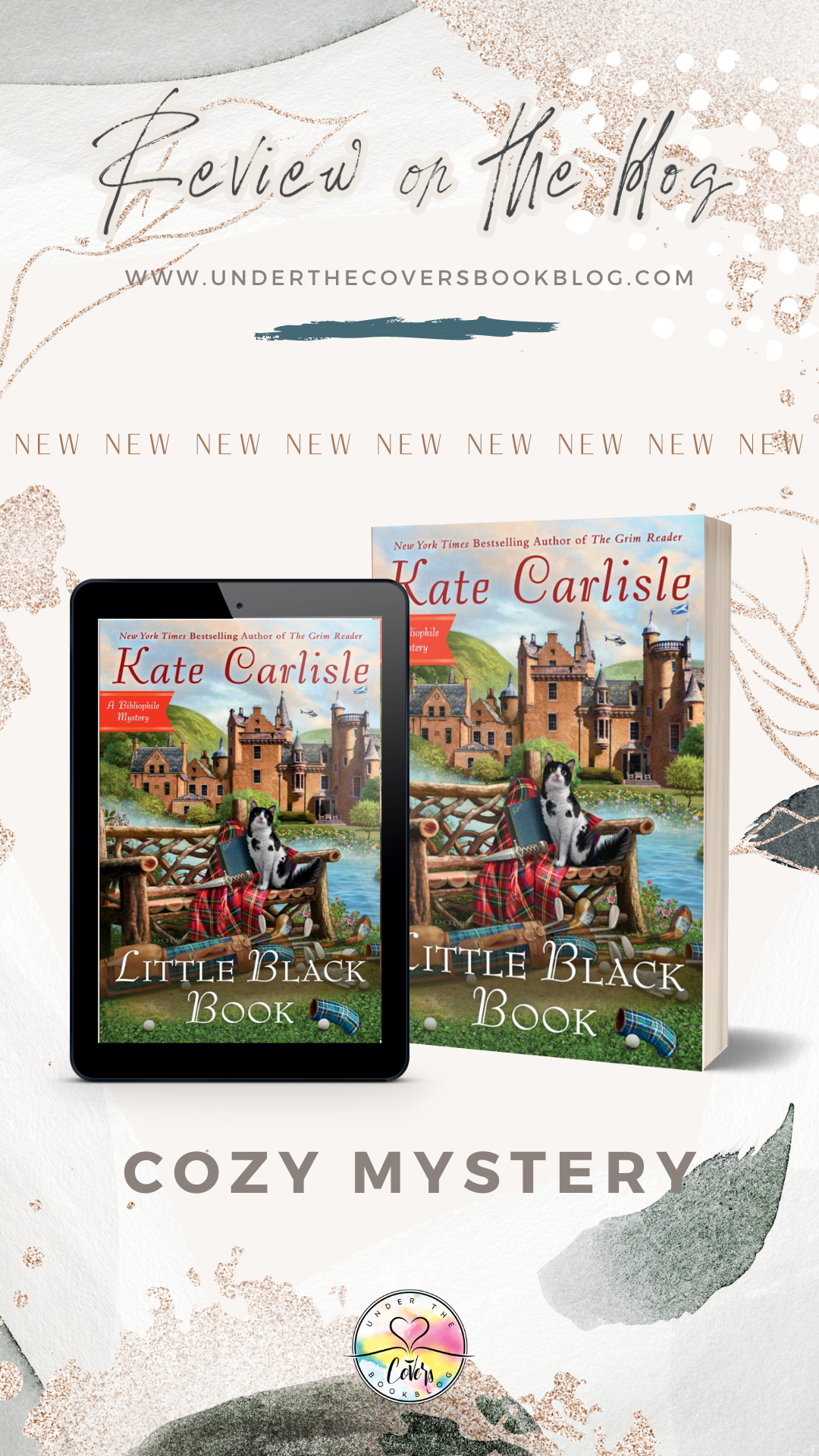 ARC Review: Little Black Book by Kate Carlisle