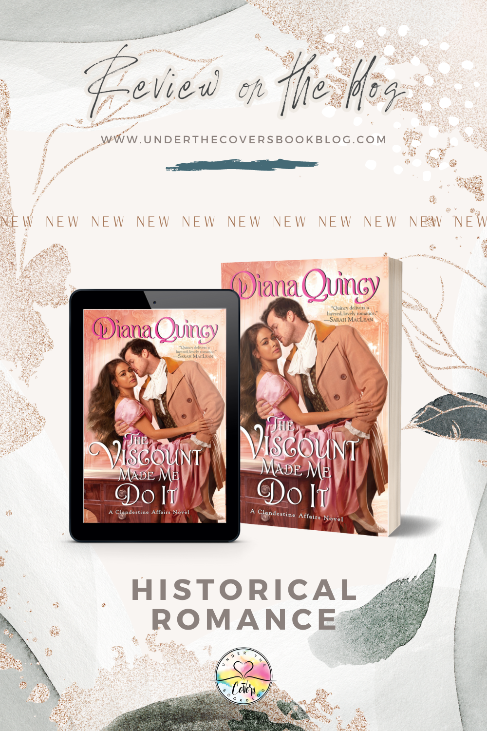 ARC Review: The Viscount Made Me Do It by Diana Quincy