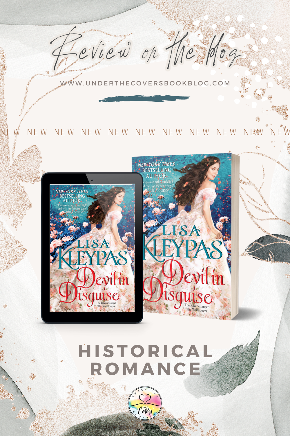 ARC Review: Devil in Disguise by Lisa Kleypas