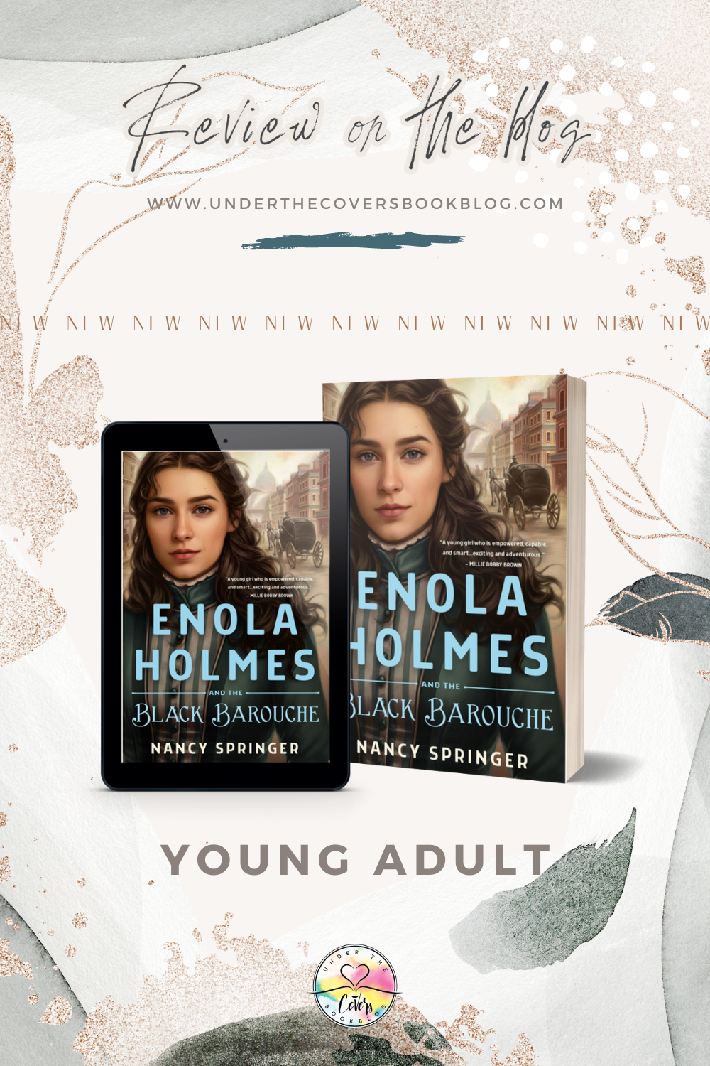 ARC Review: Enola Holmes and the Black Barouche by Nancy Springer
