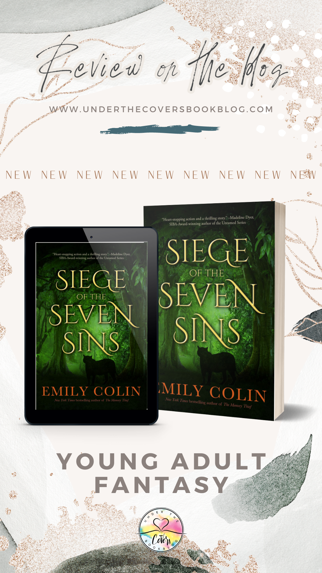ARC Review: Siege of the Seven Sins by Emily Colin