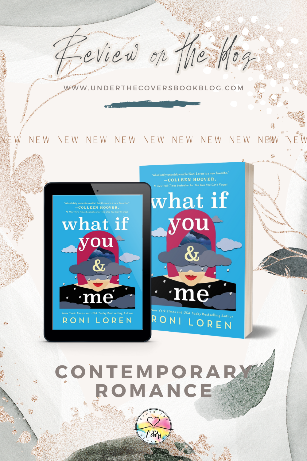 ARC Review: What If You & Me by Roni Loren