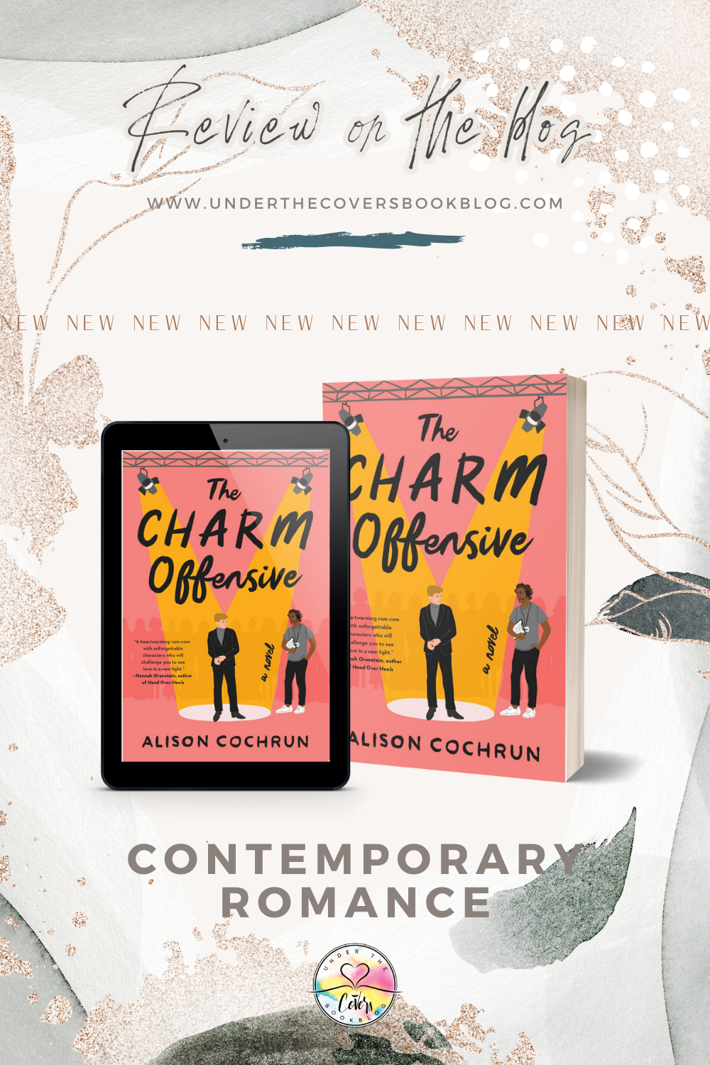 ARC Review: The Charm Offensive by Alison Cochrun