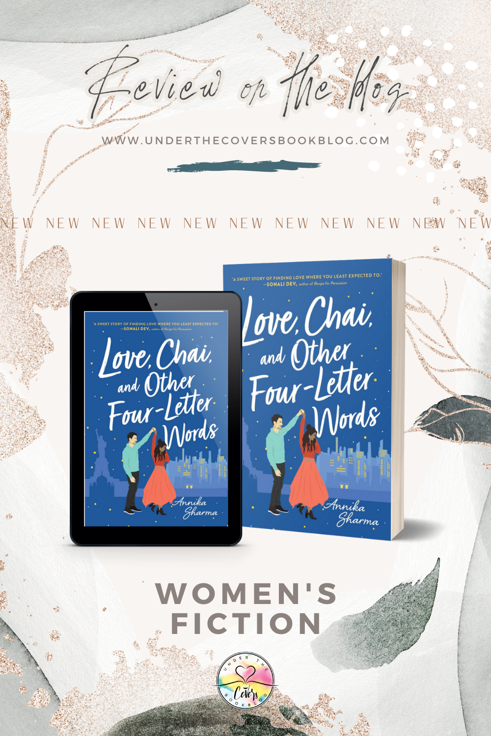 ARC Review: Love, Chai, and Other Four-Letter Words by Annika Sharma