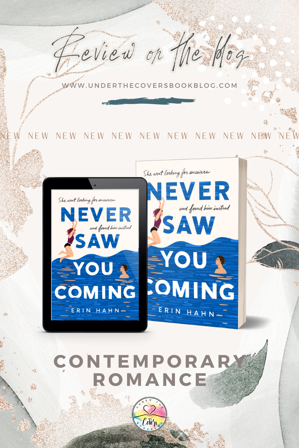 ARC Review: Never Saw You Coming by Erin Hahn