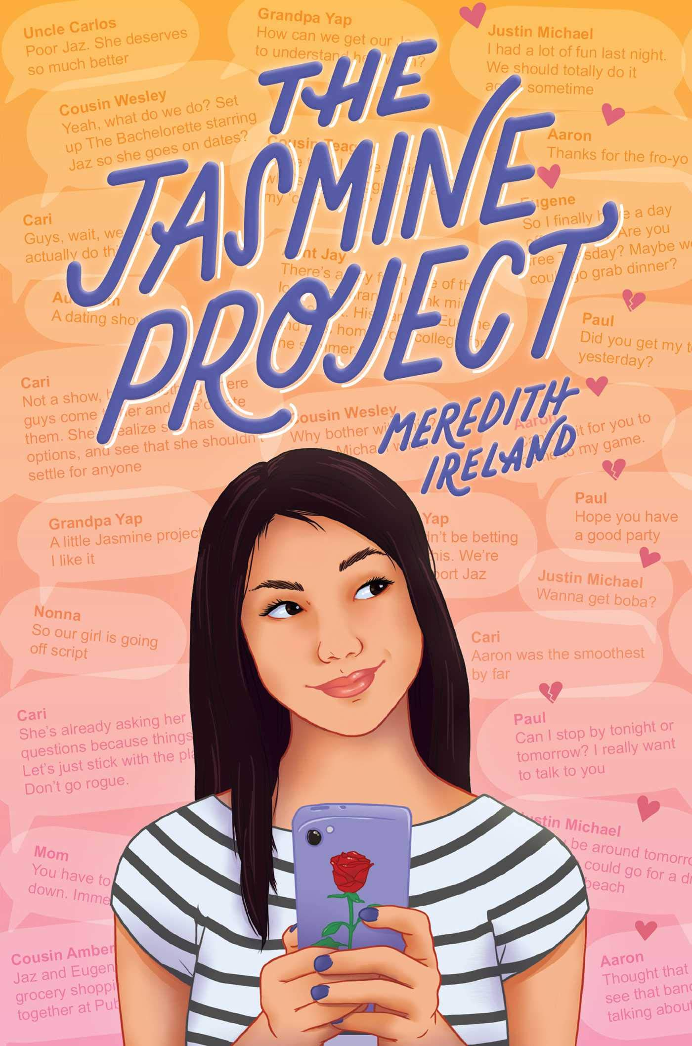 ARC Review: The Jasmine Project by Meredith Ireland
